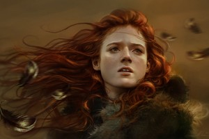 Ygritte Rose Leslie Game Of Thrones Artwork Wallpaper