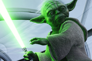 Yoda Star Wars Battlefront II 5k Wallpaper
