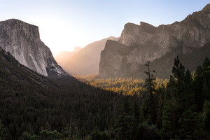 Yosemite Valley 4k