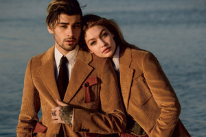 Zayn Malik And Gigi Hadid 2017 Photoshoot
