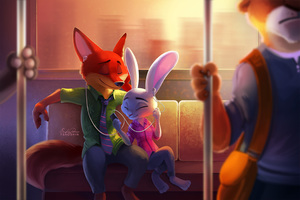 Zootopia Disney Artwork