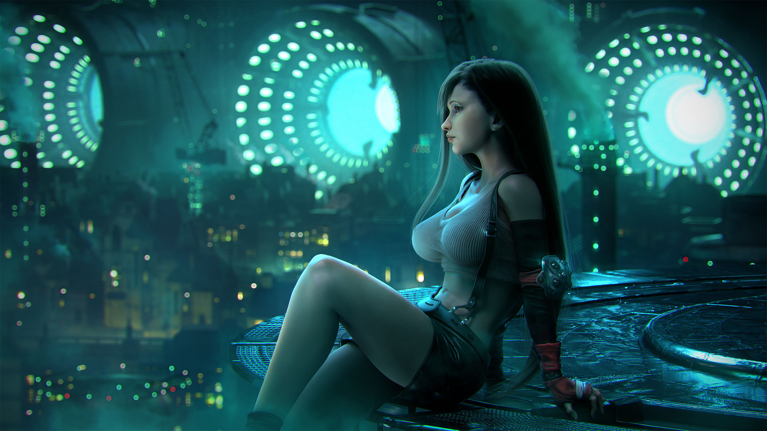 Final Fantasy Xv 4k Ultra Hd Wallpaper: Tifa Lockhart Final Fantasy Artwork, HD Fantasy Girls, 4k