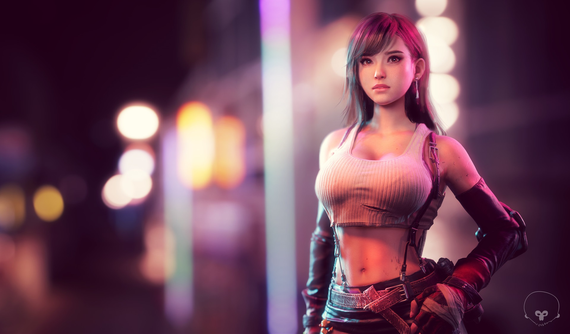 2932x2932 Tifa Lockhart Final Fantasy Artwork Ipad Pro