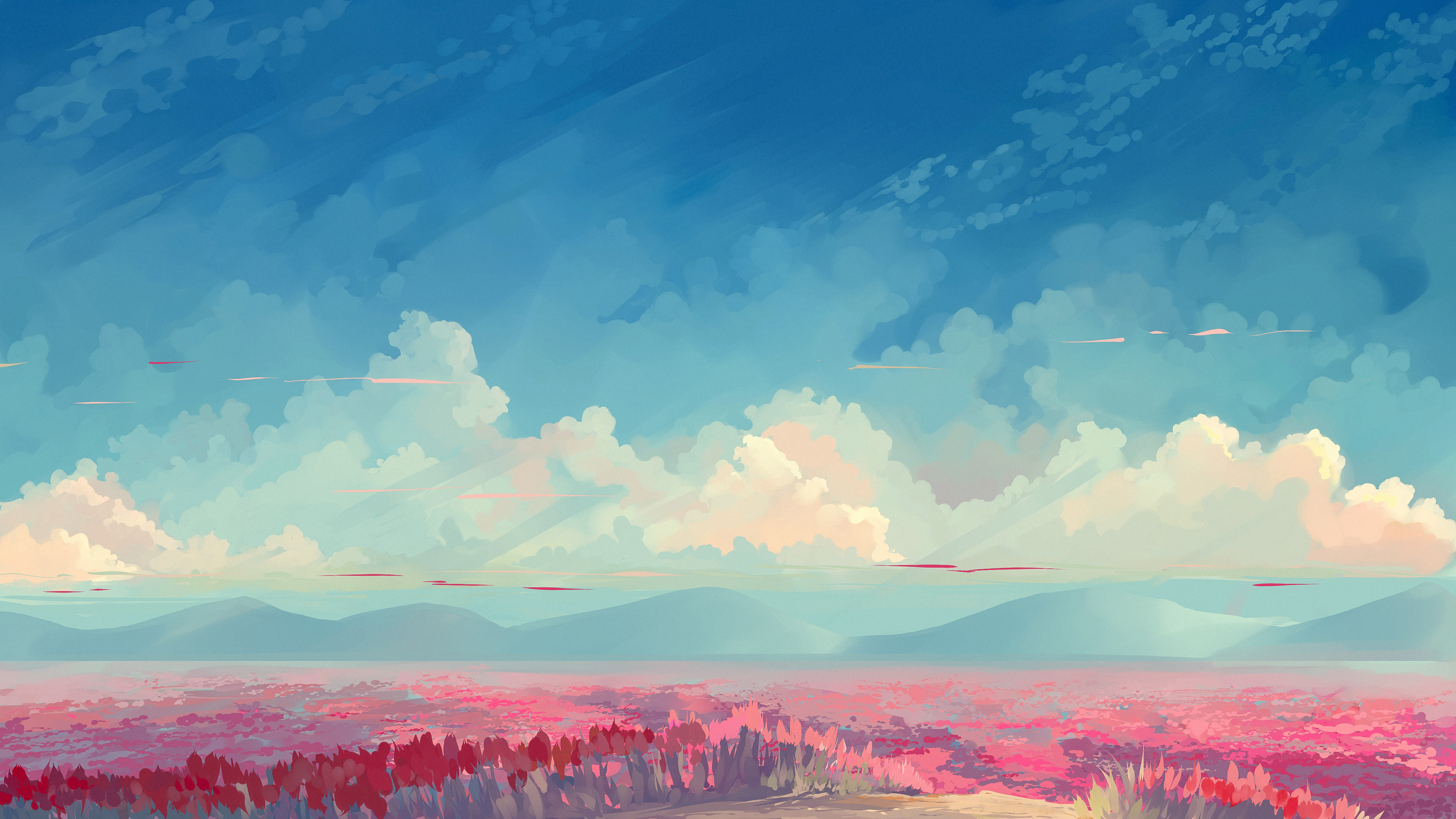 To The Sky Hd Anime 4k Wallpapers Images Backgrounds