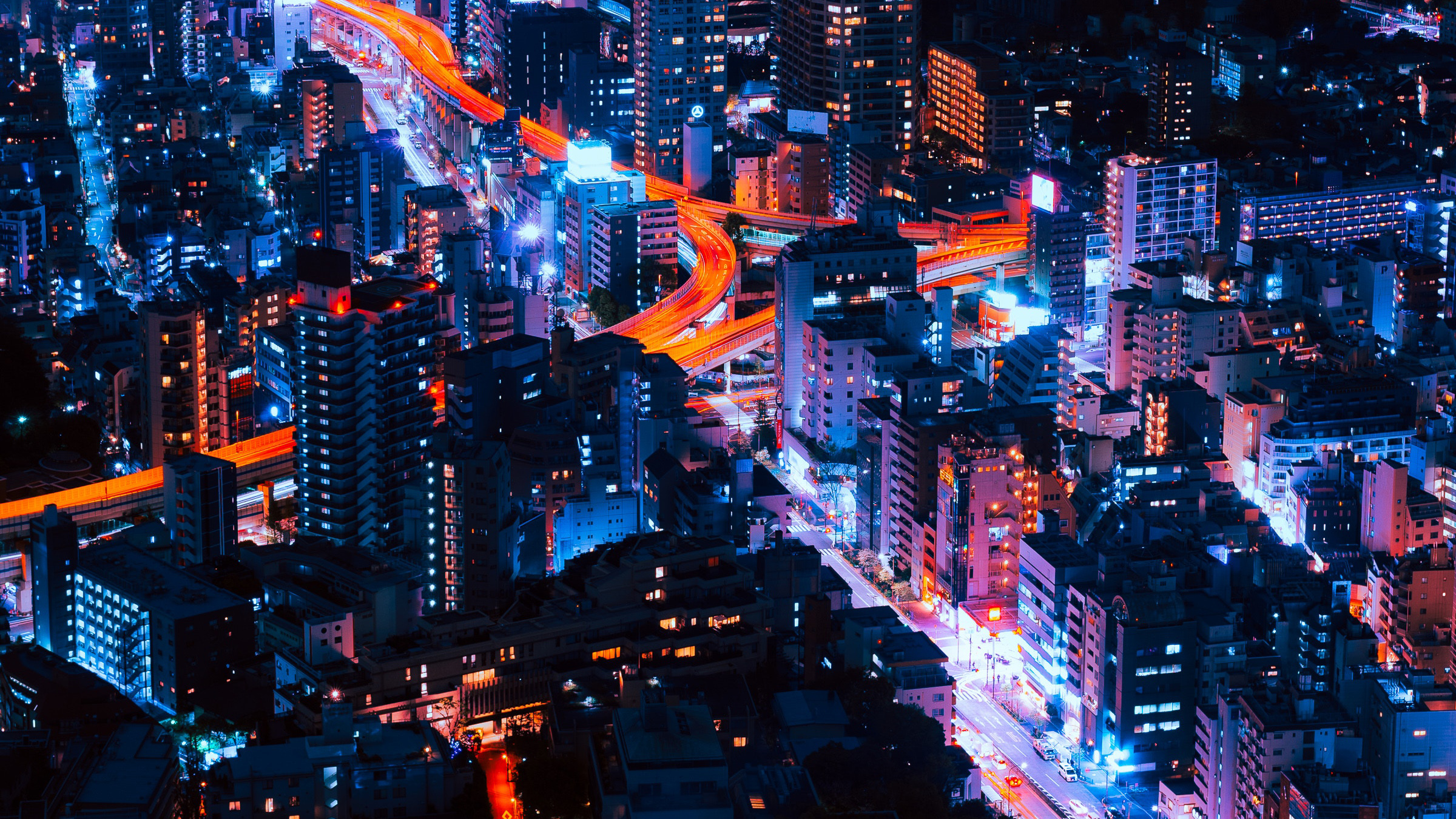 Tokyo Cityscape Neon Lights Hd World 4k Wallpapers Images