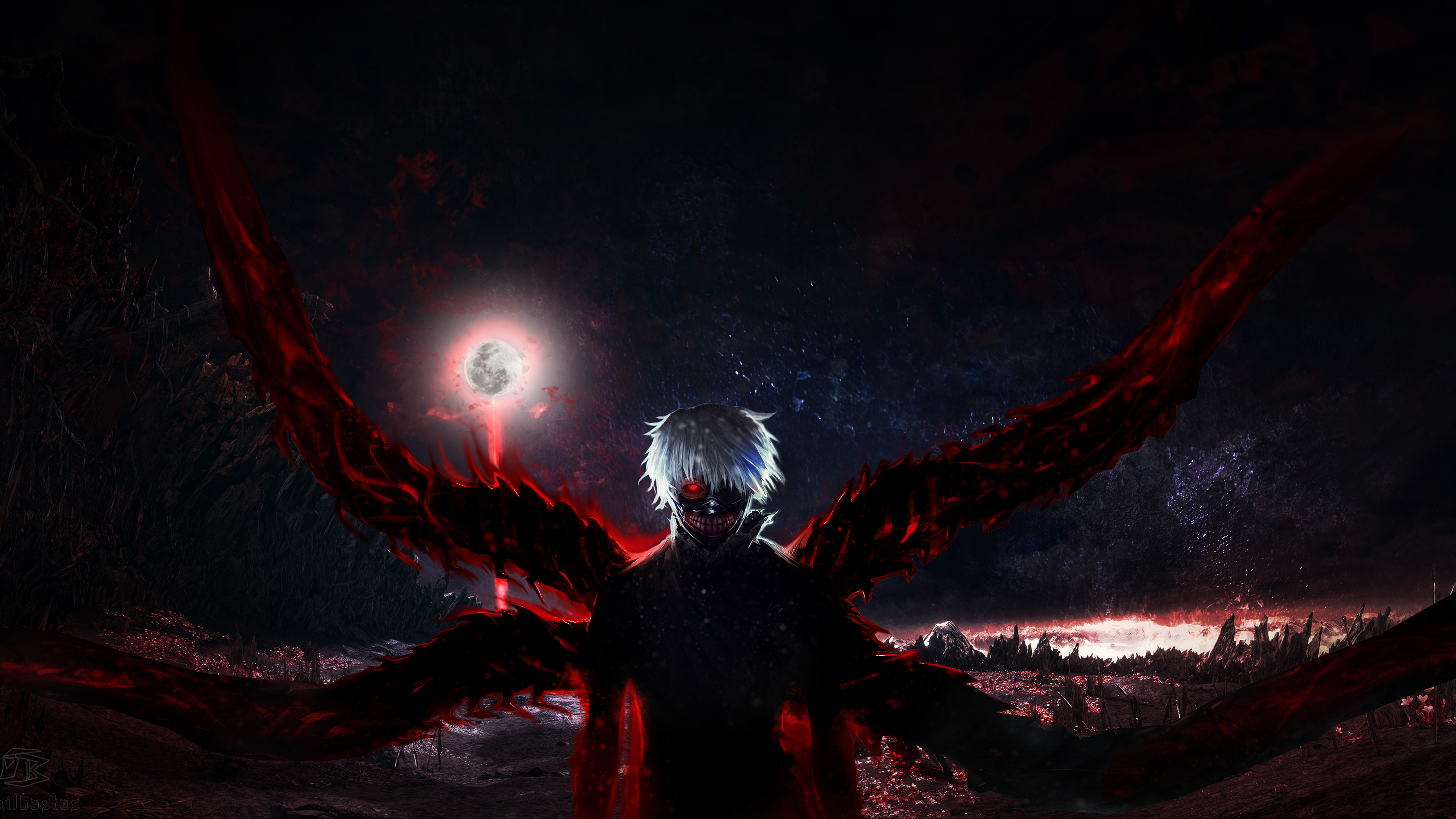 Tokyo Ghoul 4k, HD Anime, 4k Wallpapers, Images ...