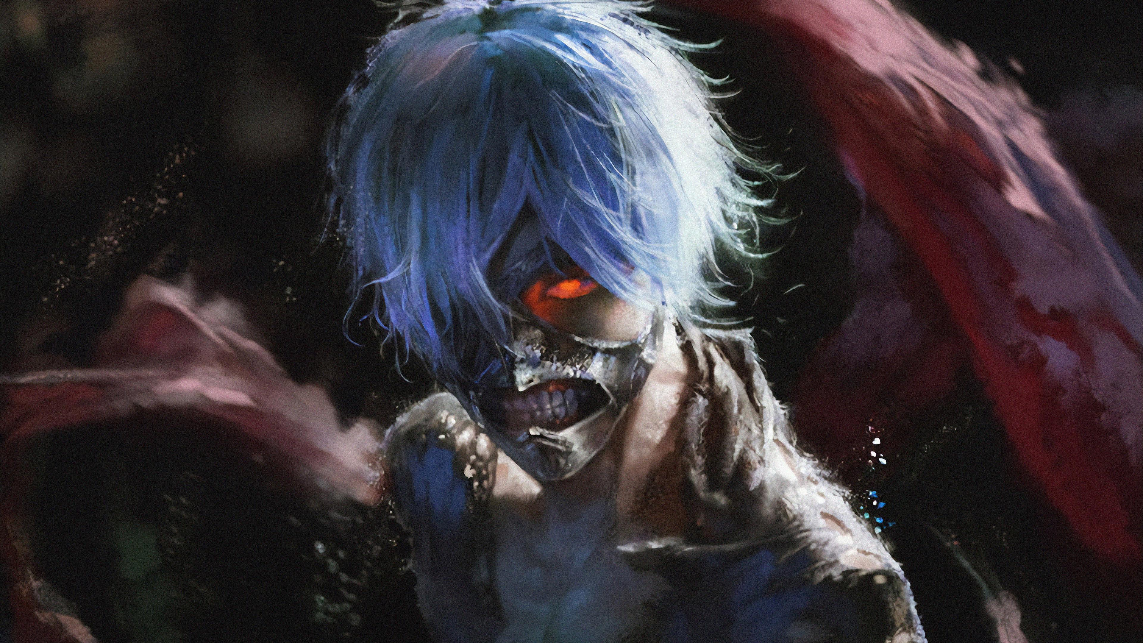 1366x768 Tokyo Ghoul Art 4k 1366x768 Resolution Hd 4k