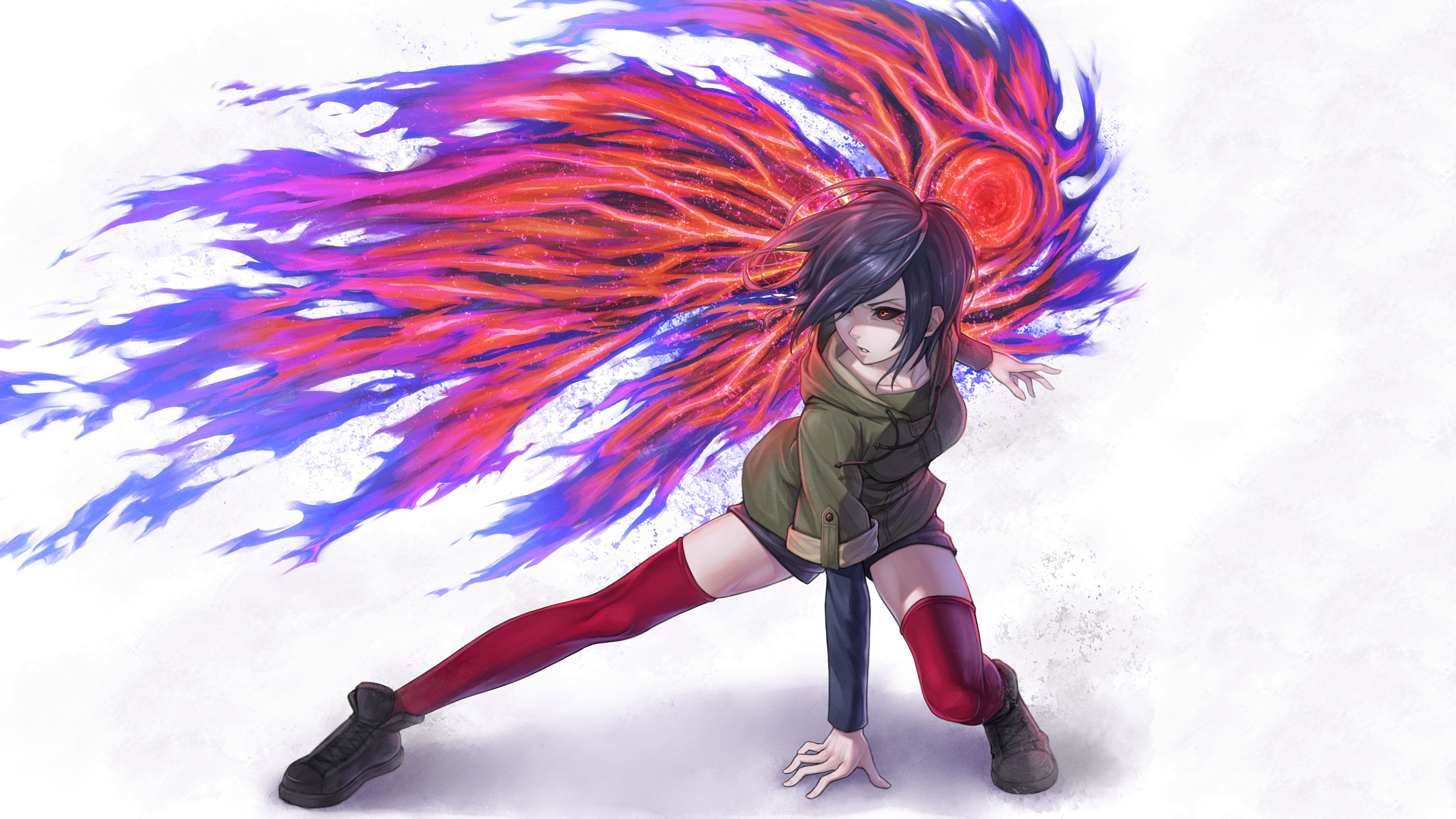 Tokyo ghoul artistic artwork 4k hd anime 4k wallpapers - Anime background wallpaper 4k ...