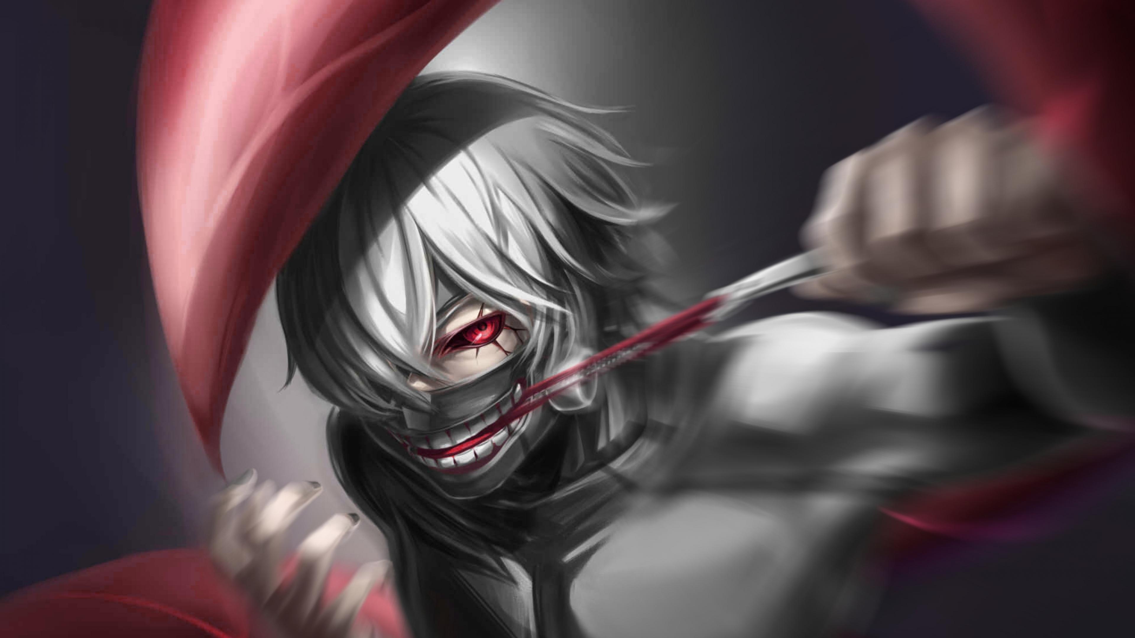 Tokyo Ghoul Kaneki Ken k HD Anime k Wallpapers Images