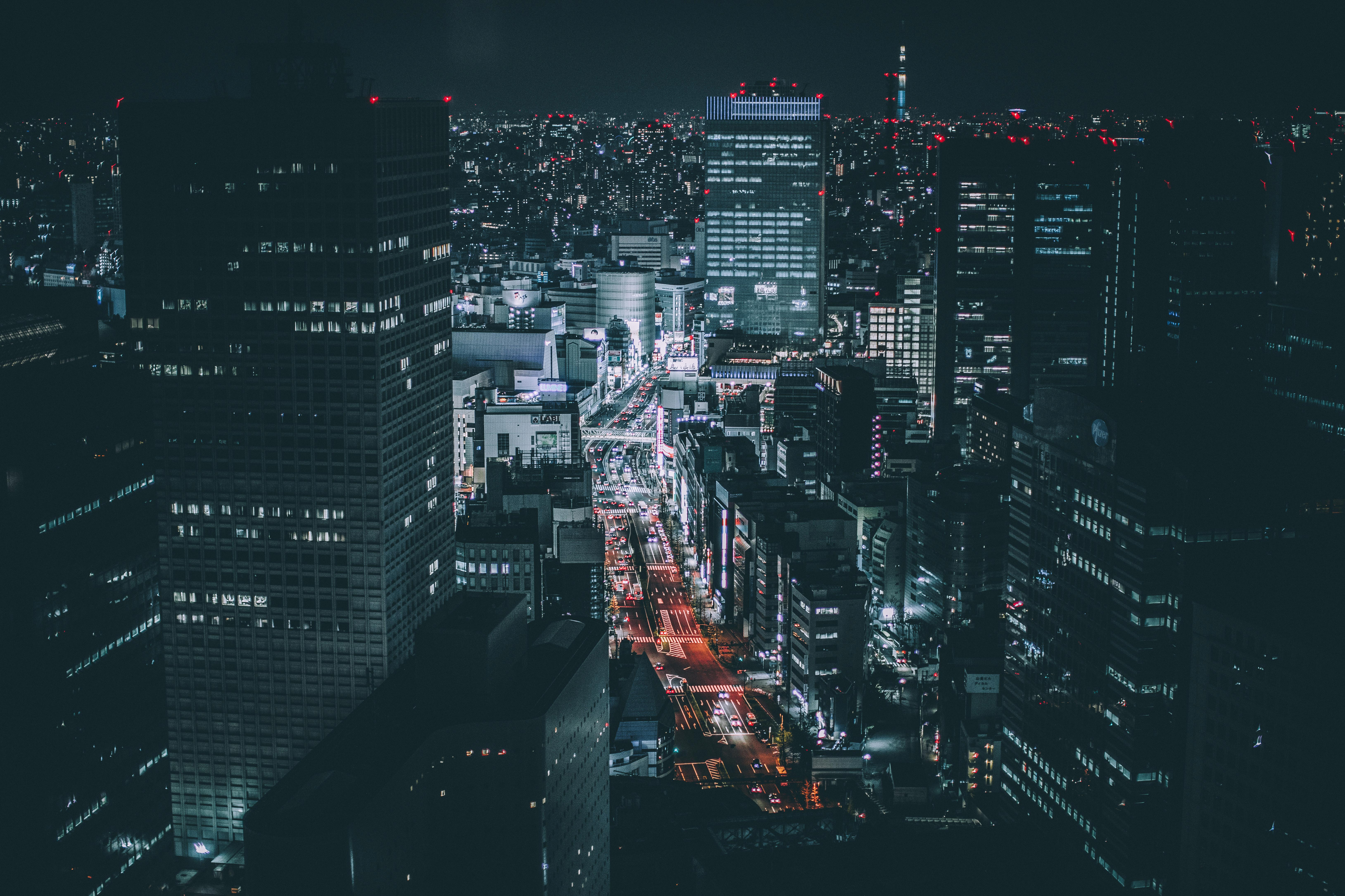 tokyo night 5k hd photography 4k wallpapers images backgrounds