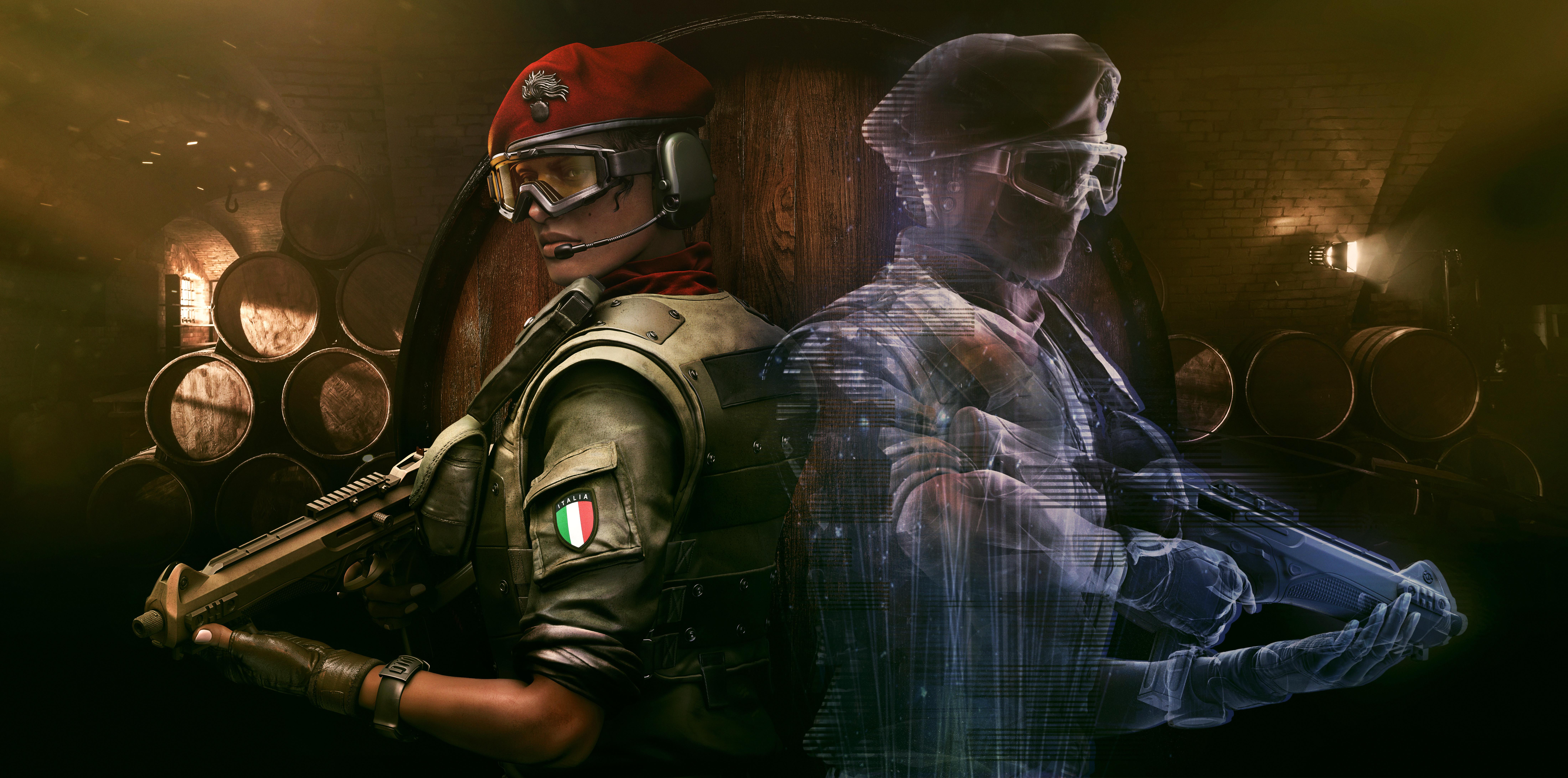 Frost Tom Clancys Rainbow Six Siege 5k, HD Games, 4k