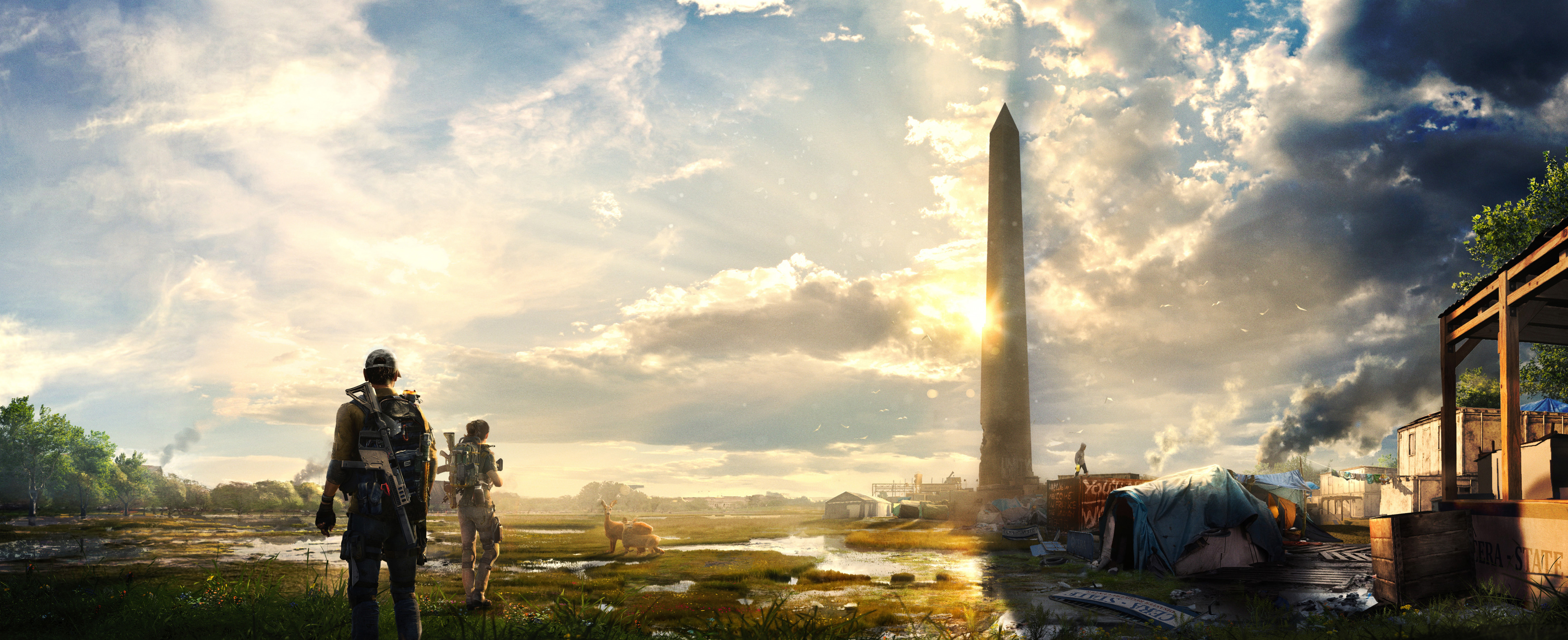 1360x768 Tom Clancys The Division 2 E3 Laptop HD HD 4k ...
