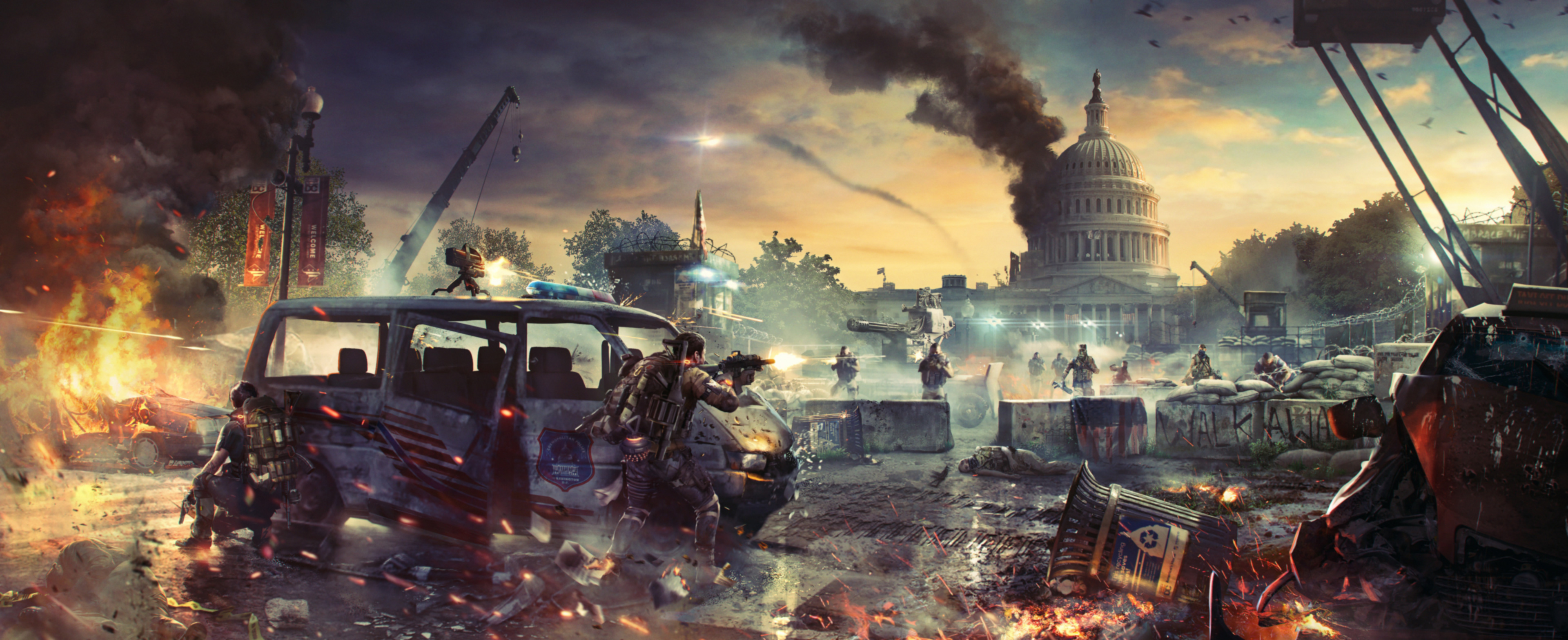 Tom Clancys The Division 2 Video Game, HD Games, 4k
