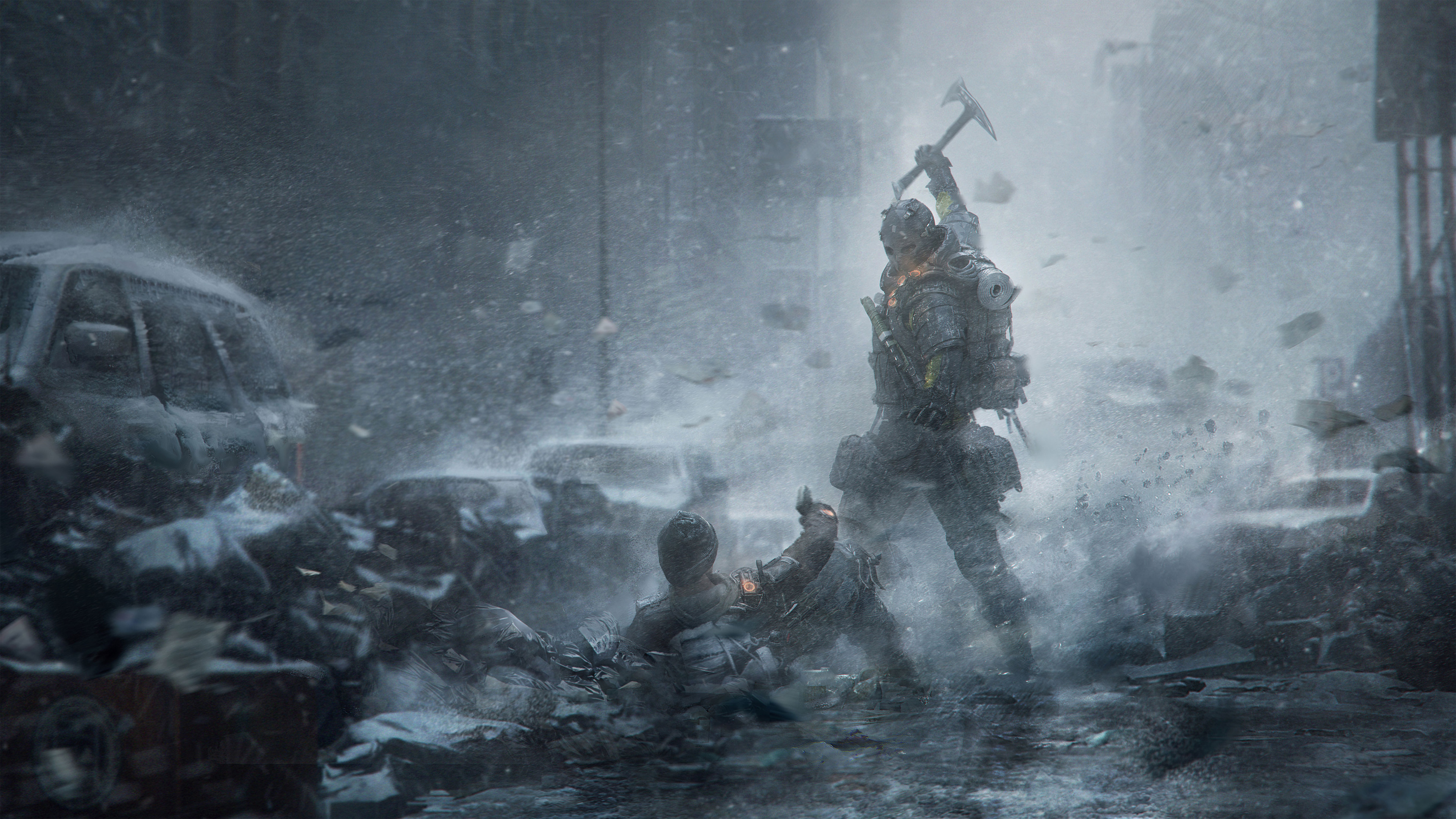 Tom Clancys The Division Survival Artwork Hd Games 4k Wallpapers