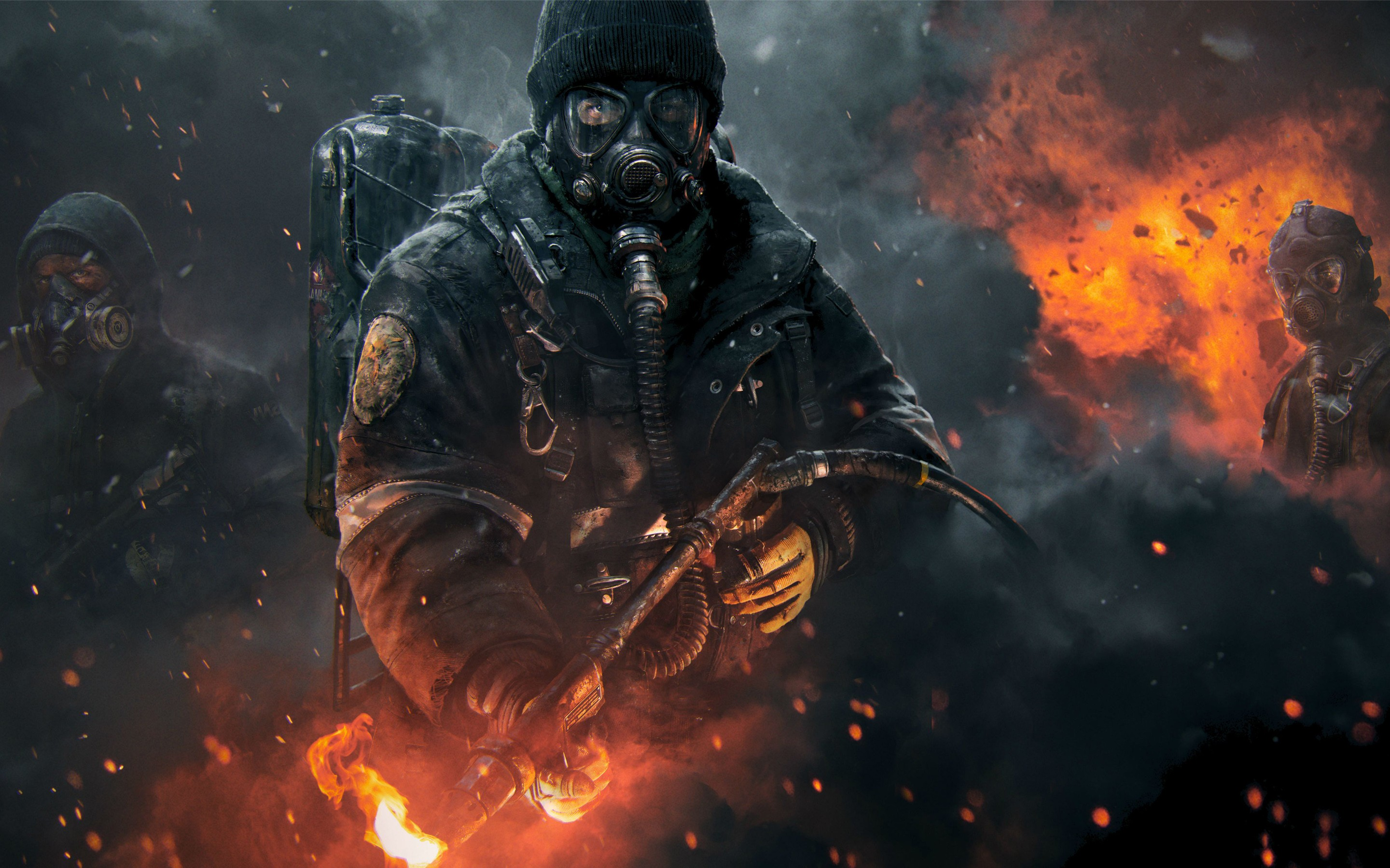 320x240 Tom Clanycs The Division Apple Iphone Ipod Touch