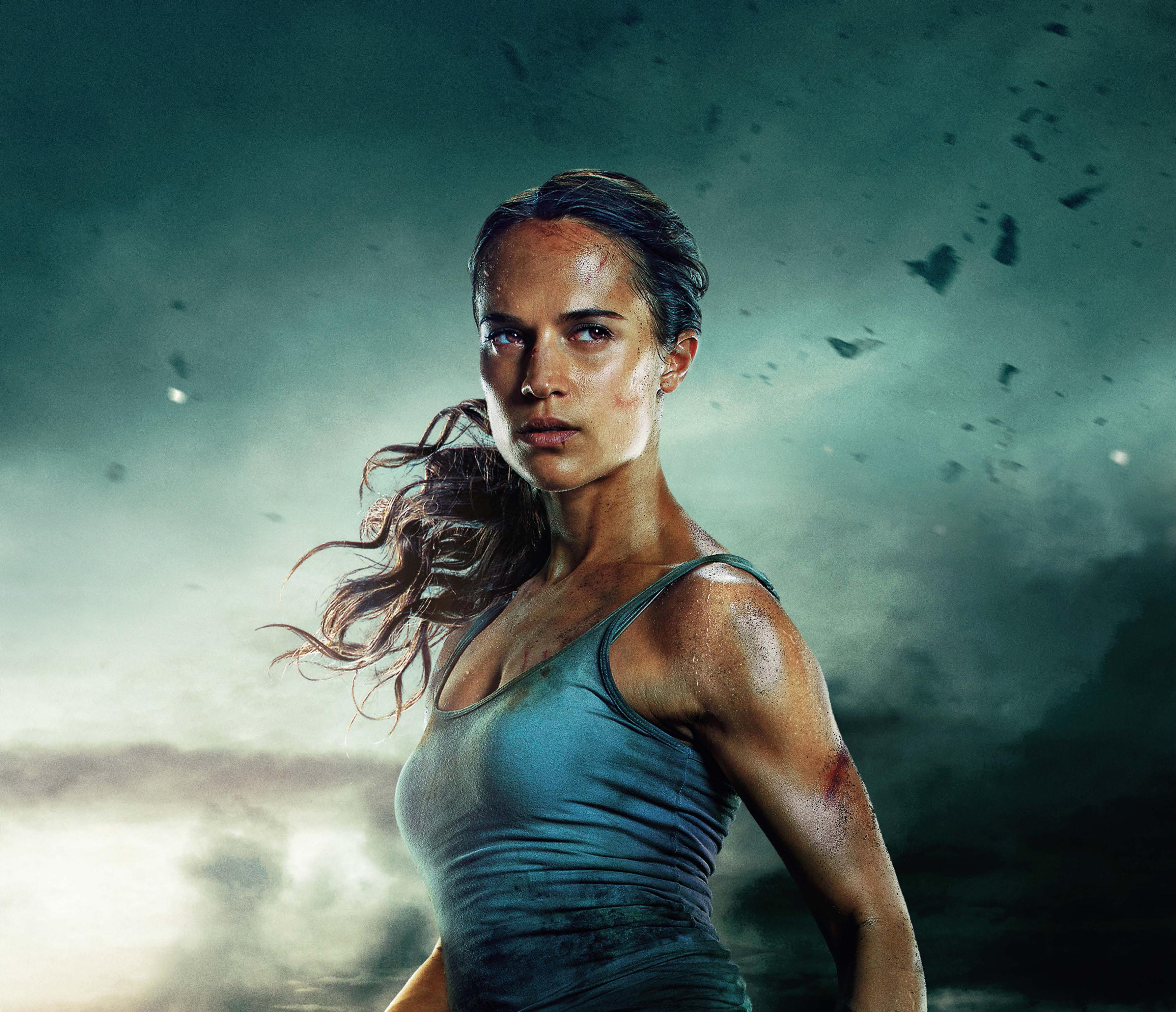 Wallpaper Tomb Raider 2018: Tomb Raider 2018 Alicia Vikander 4k, HD Movies, 4k