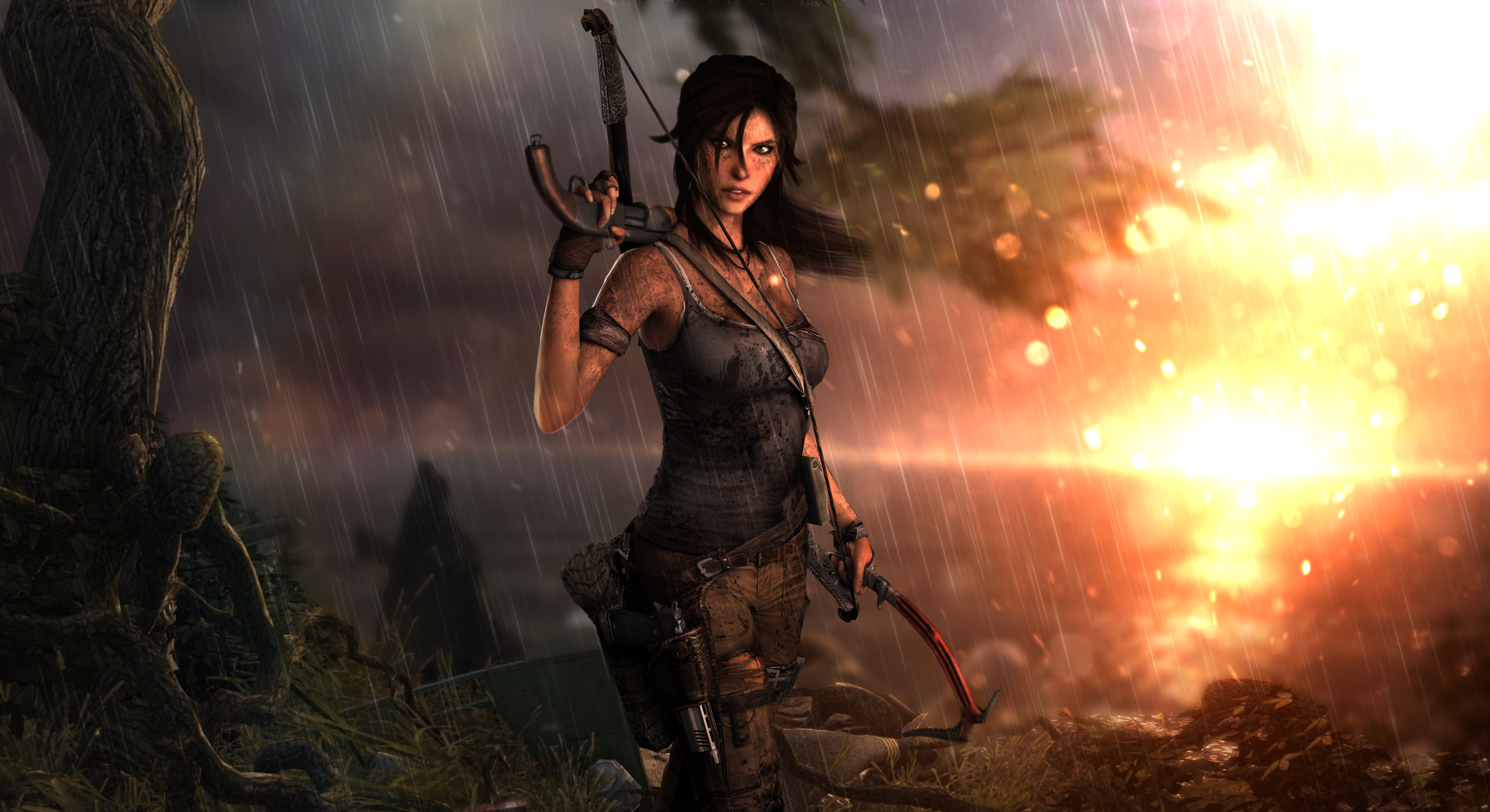 3840x2160 Lara Croft Tomb Raider Artwork 4k Hd 4k: 3840x2160 Tomb Raider Lara Croft 10k 4k HD 4k Wallpapers