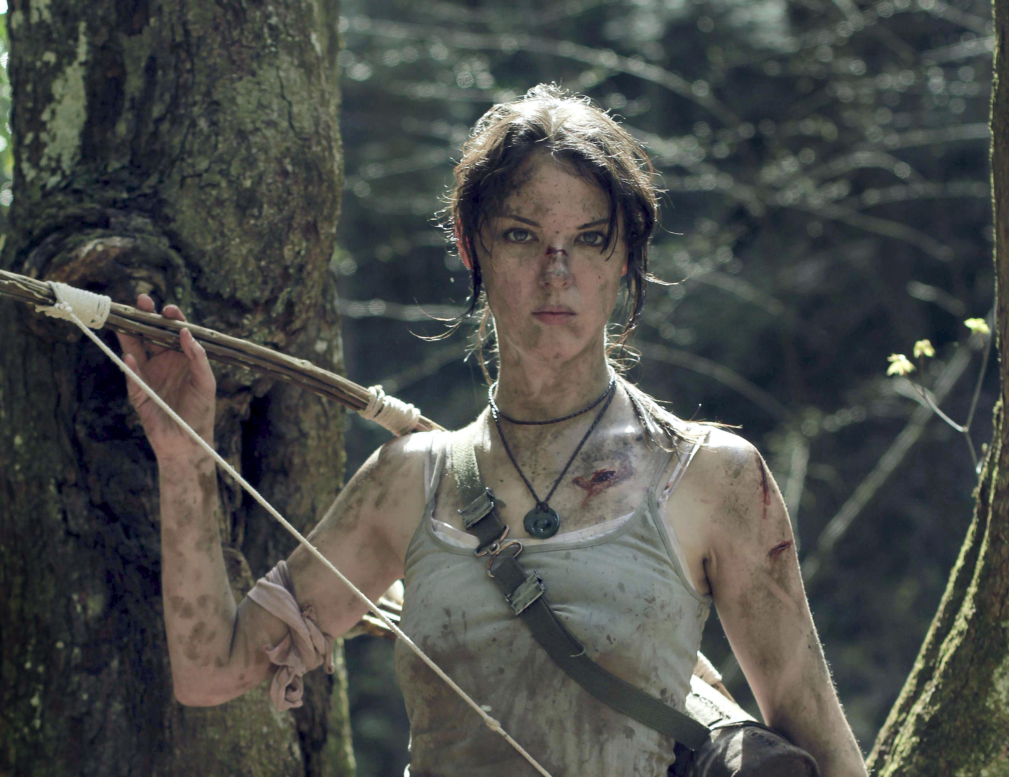3840x2160 Lara Croft Tomb Raider Artwork 4k Hd 4k: Tomb Raider Lara Croft Cosplay 4k, HD Girls, 4k Wallpapers