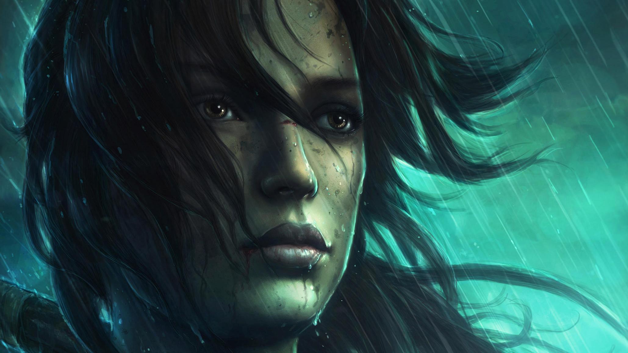 Tomb Raider Reborn Art, HD Fantasy Girls, 4k Wallpapers