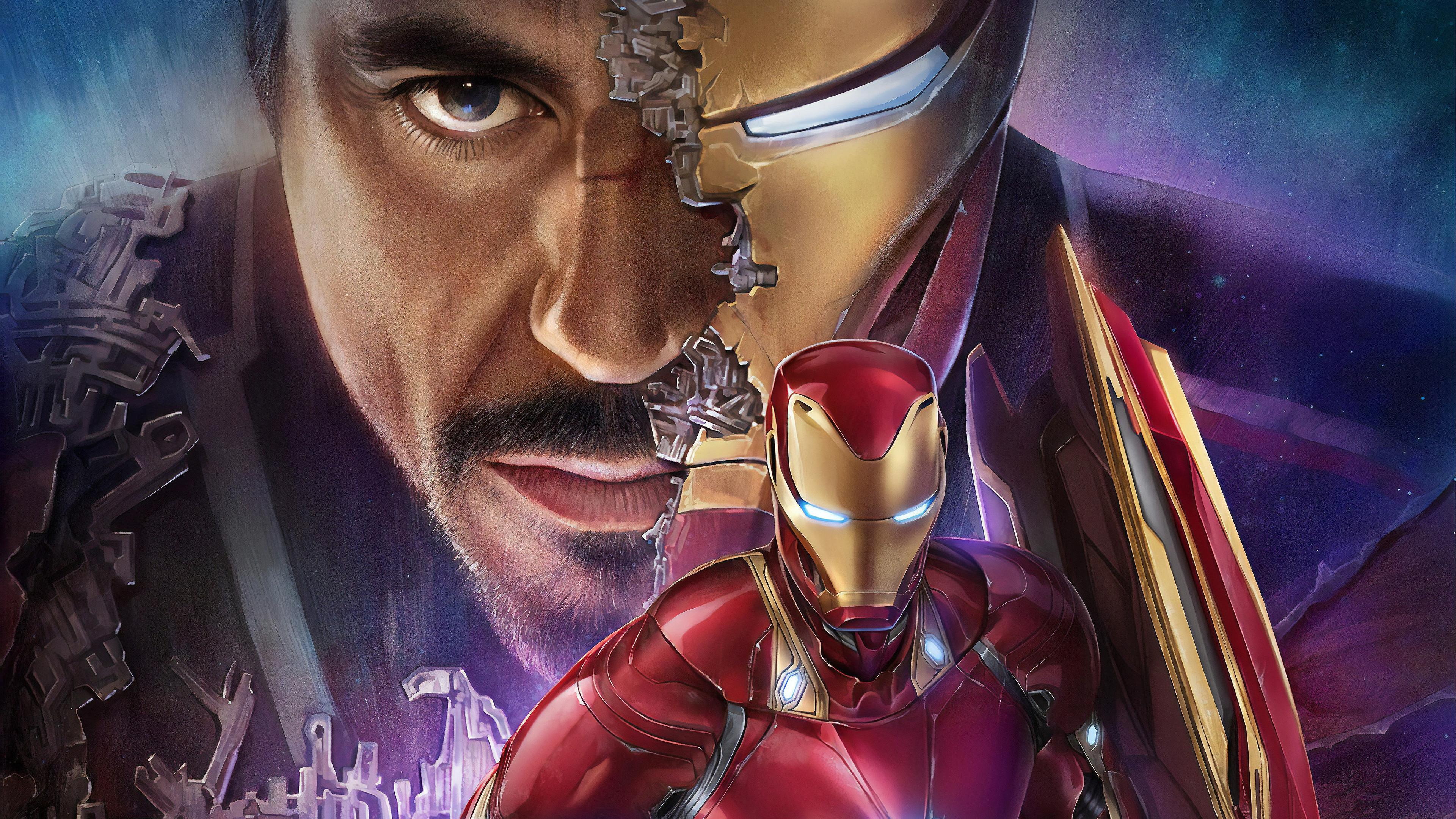 Tony Stark Iron Man 4k Hd Superheroes 4k Wallpapers