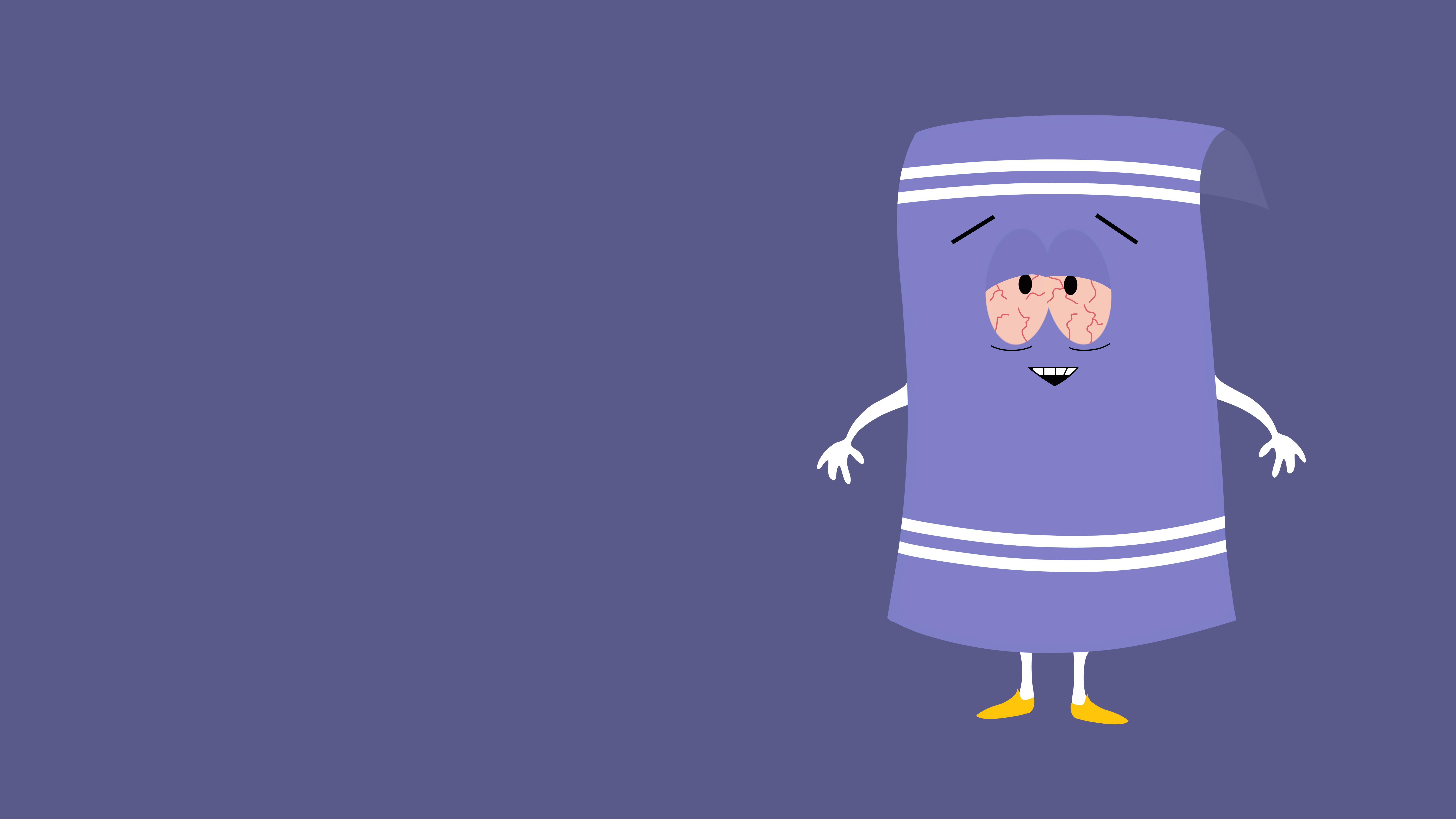 Towelie South Park Minimalism 8k