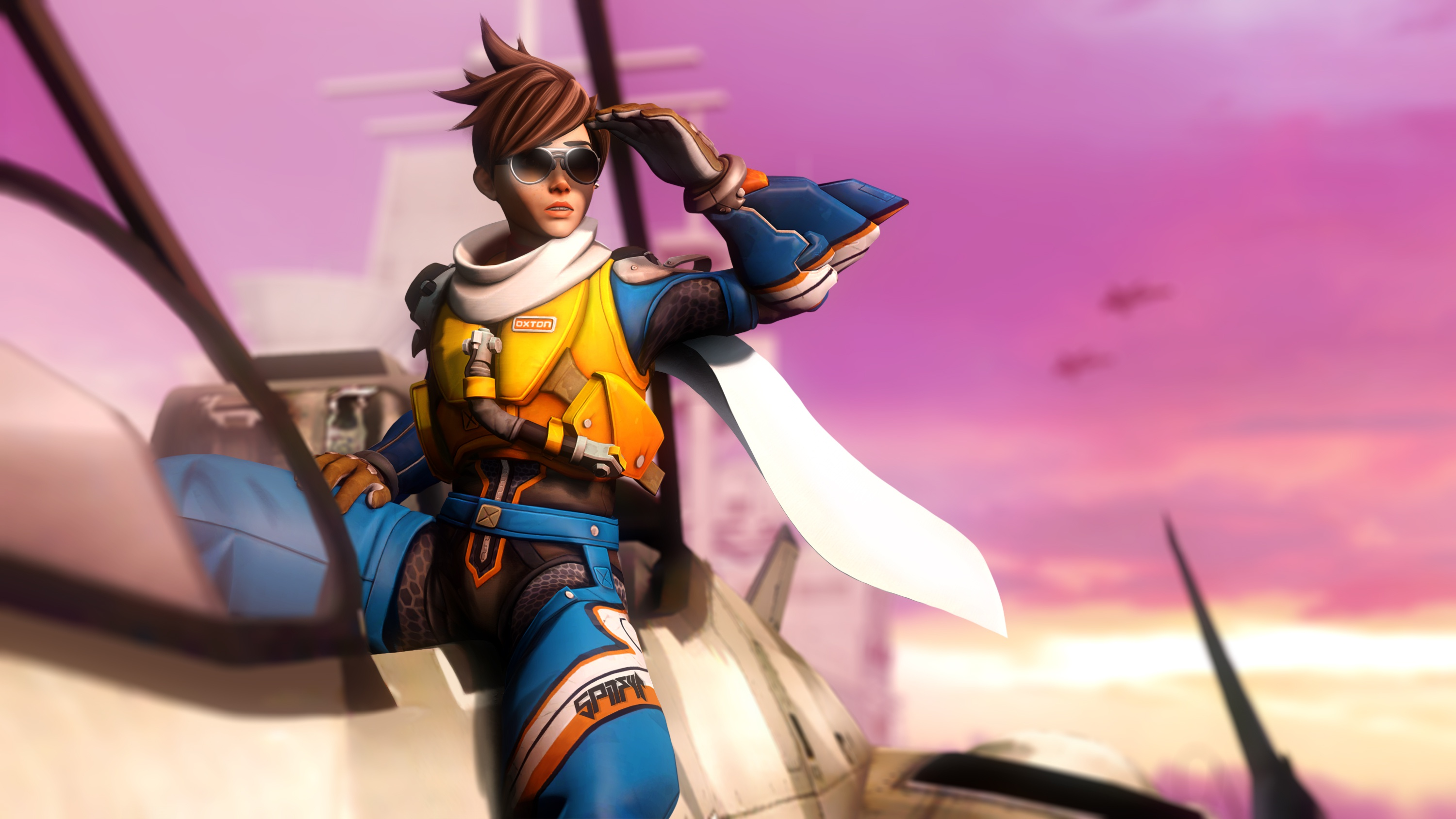 Tracer Overwatch Video Game | Games HD 4k Wallpapers