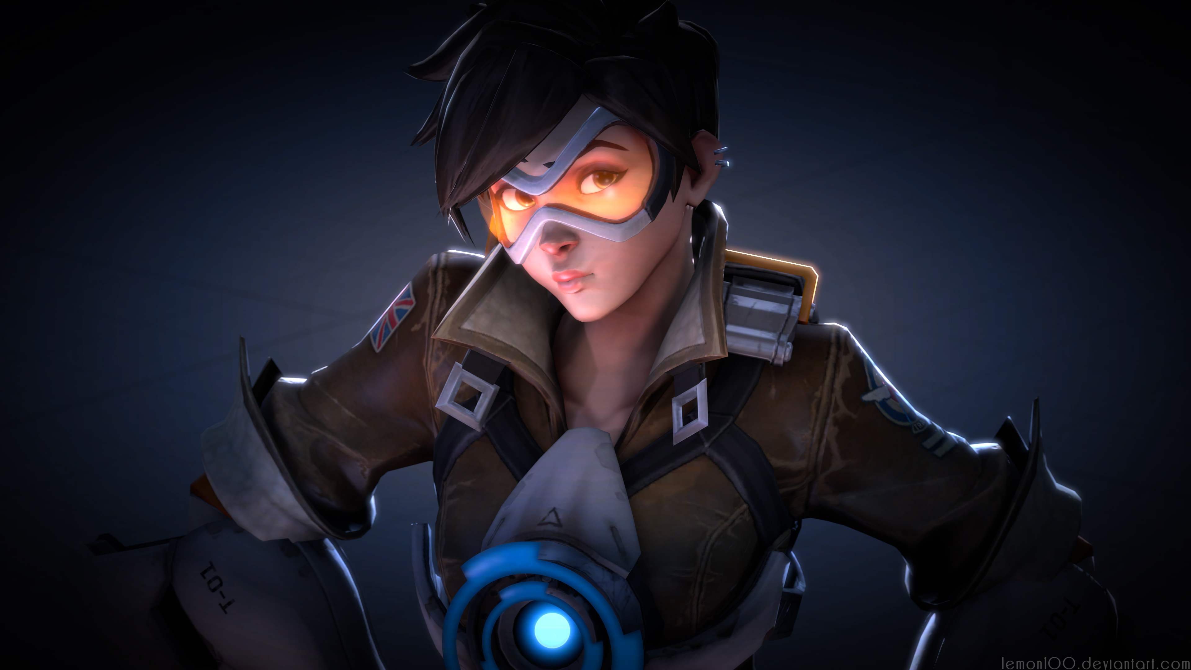 Tracer Ovewatch Art