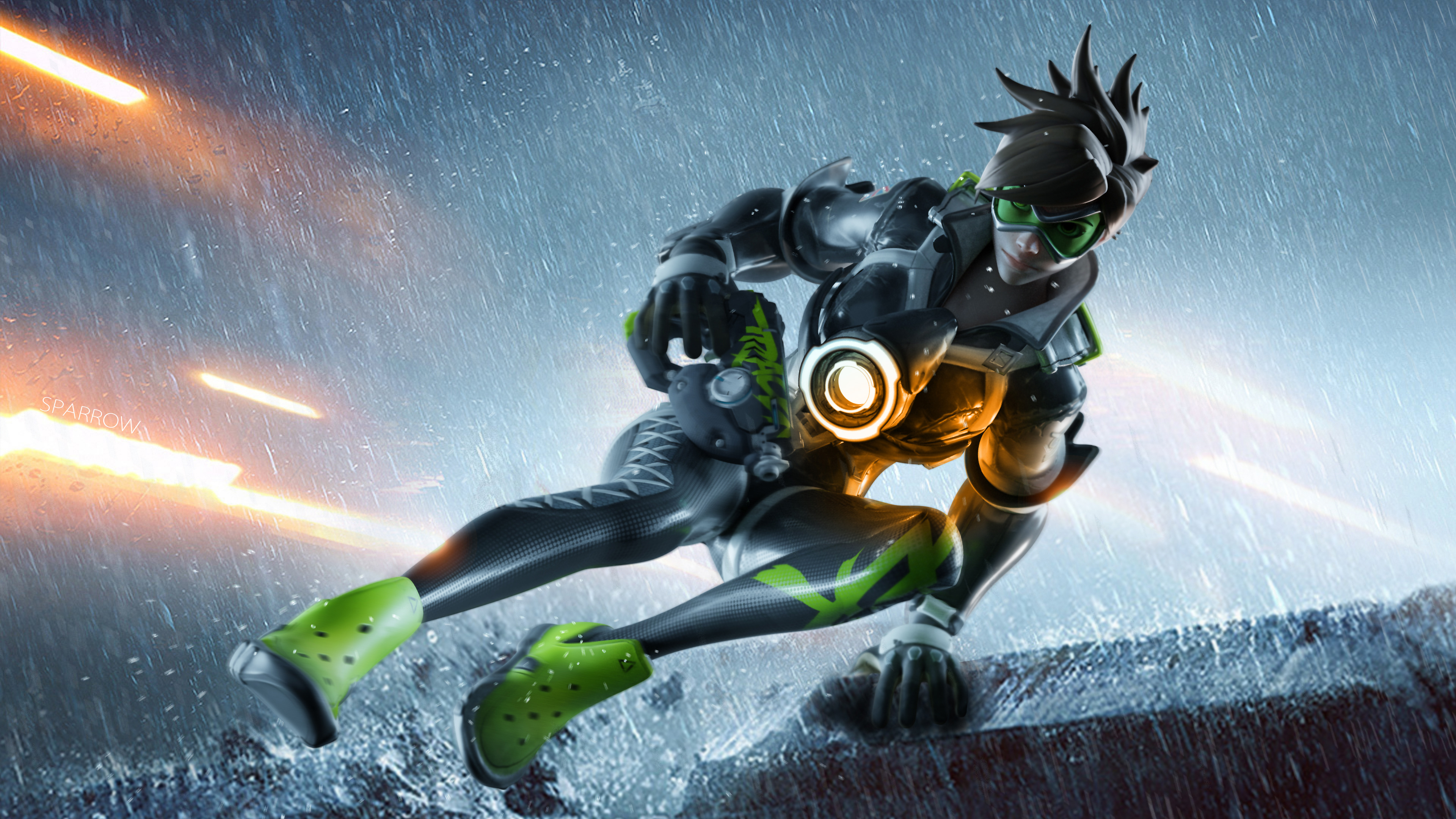 Tracer Ovewatch Artwork 4k, HD Games, 4k Wallpapers ...