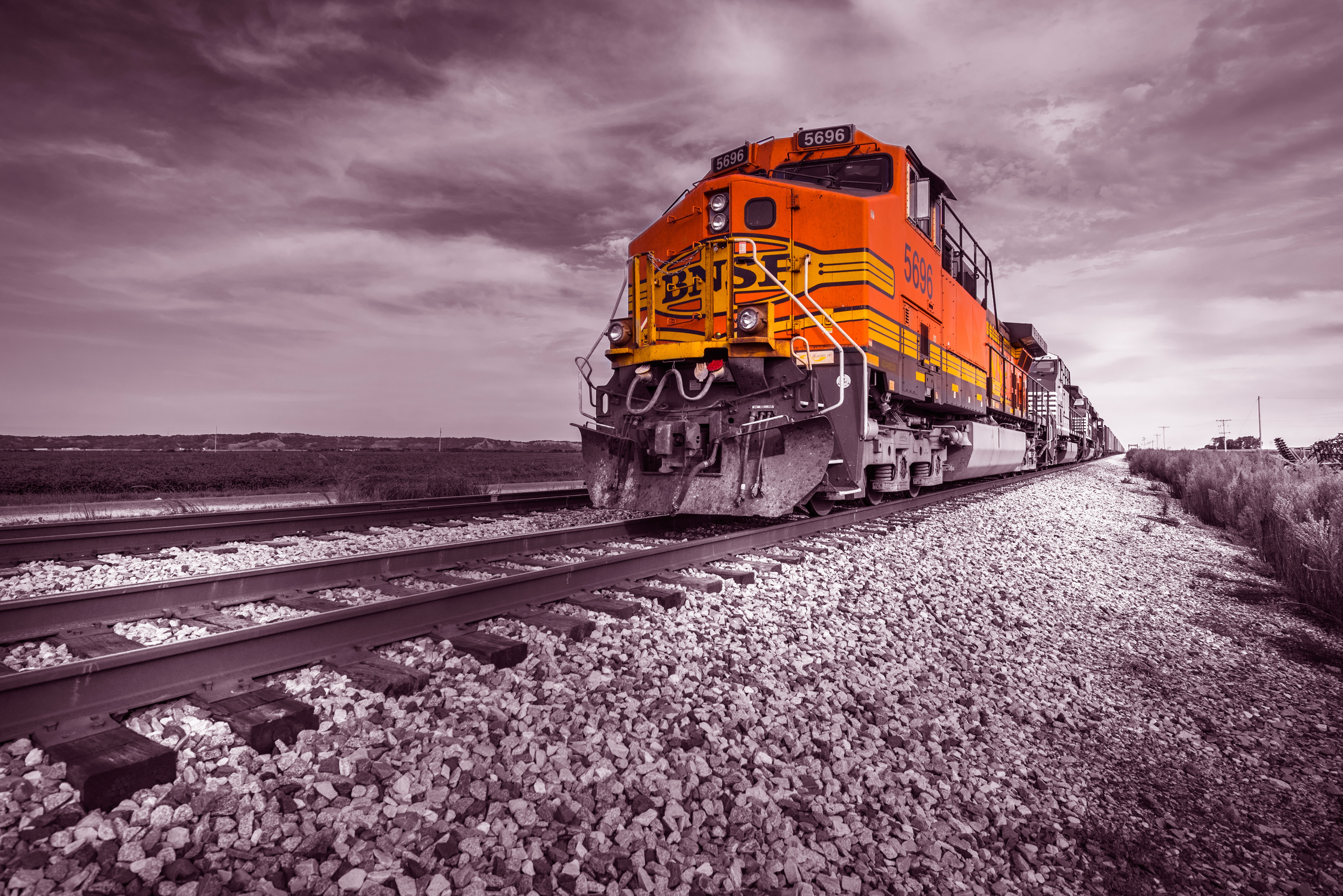 Train on track hd others 4k wallpapers images backgrounds photos and pictures - Background images 4k hd ...