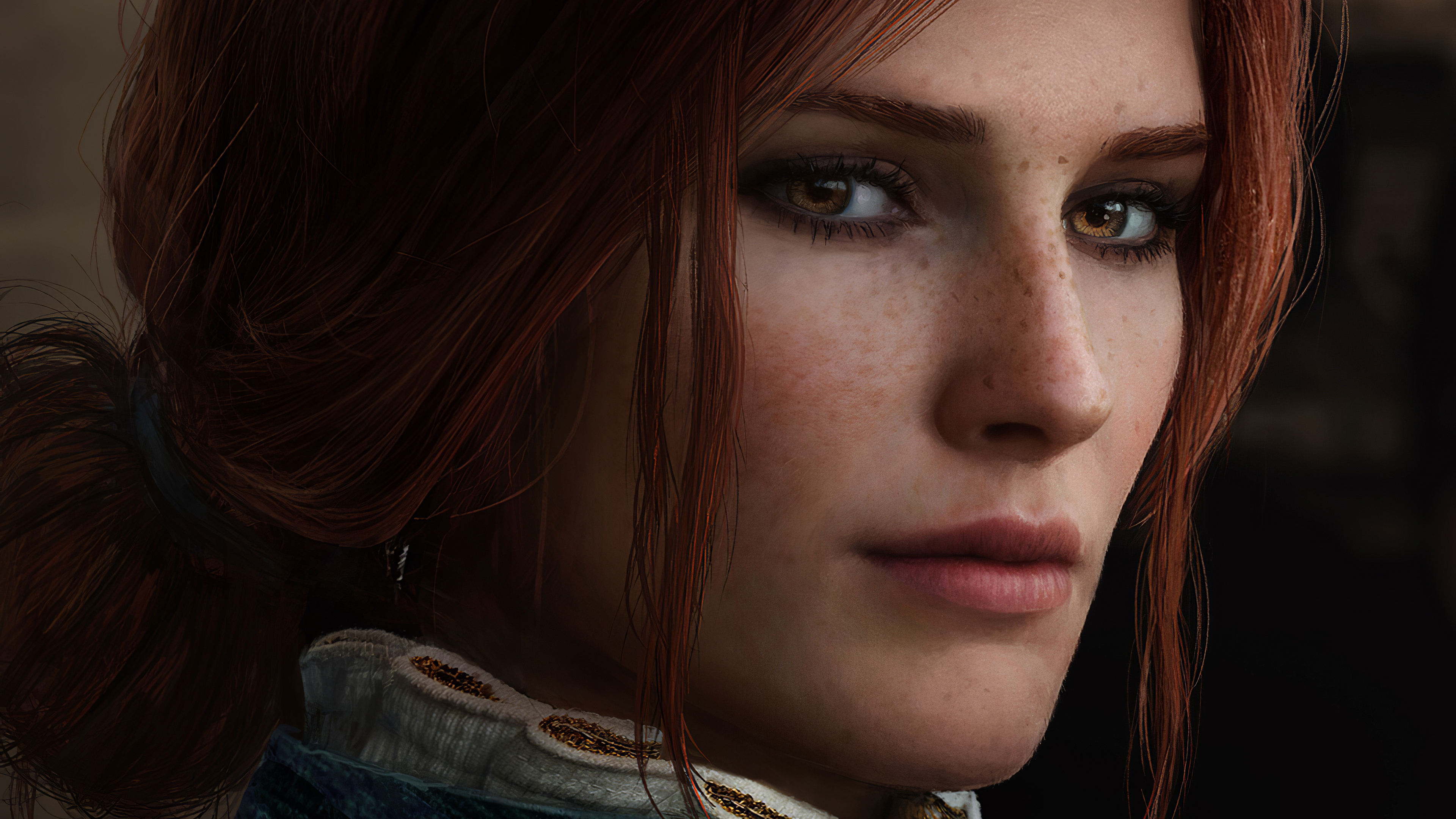 Triss Merigold Witcher 3 Cosplay 4k Hd Games 4k Wallpapers