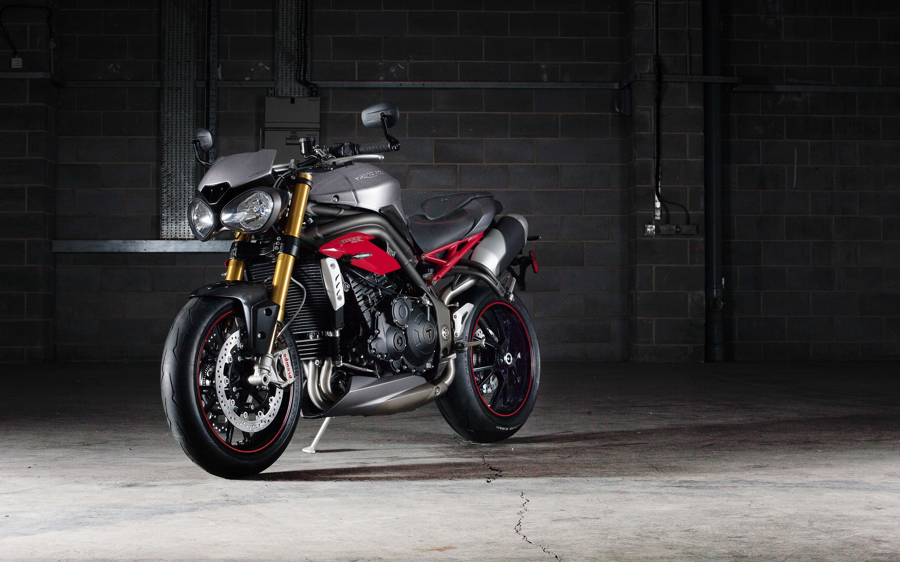 Triump Speed Triple R Bike, HD Bikes, 4k Wallpapers