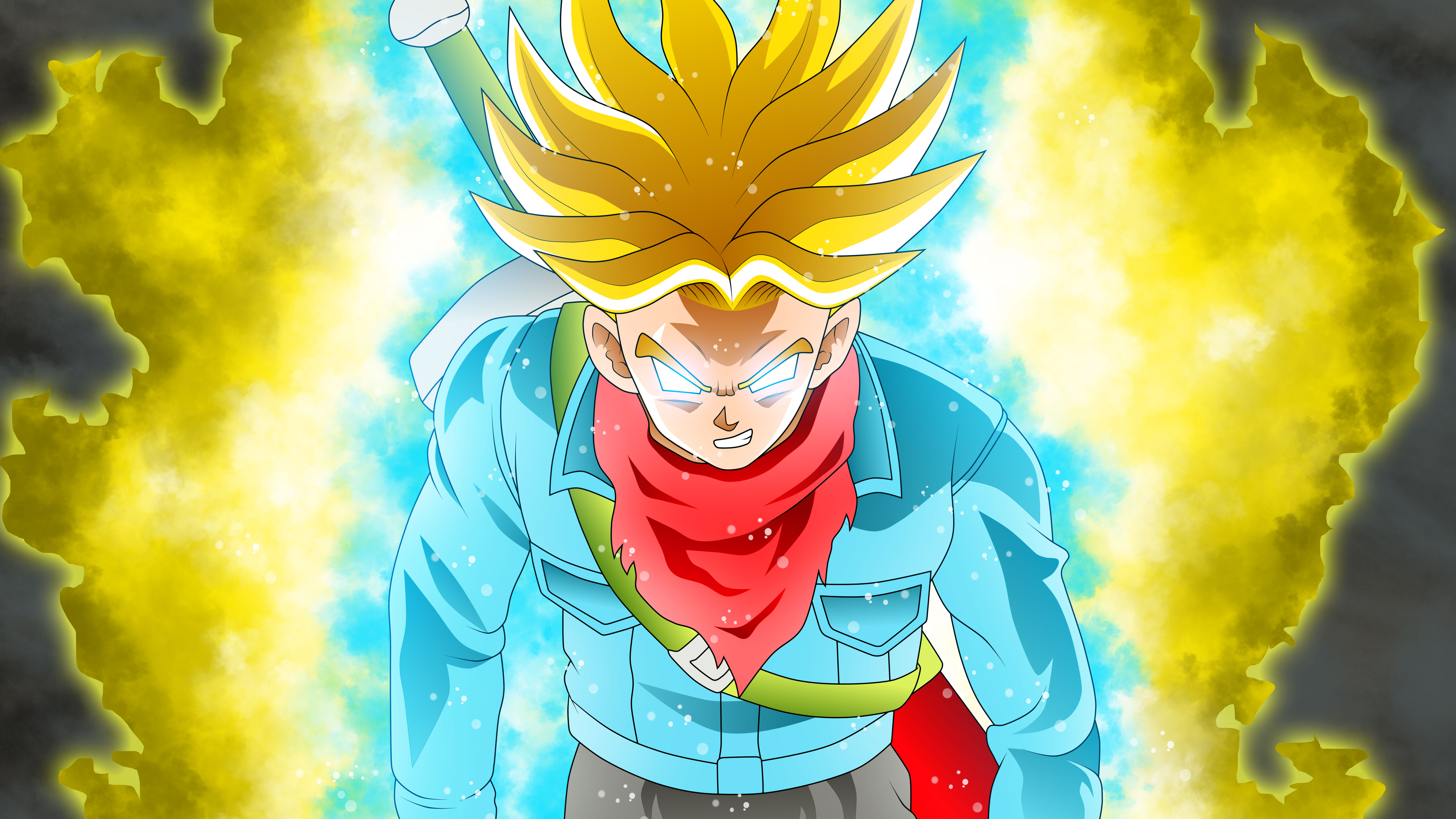 Trunks Dragon Ball Super, HD Anime, 4k Wallpapers, Images