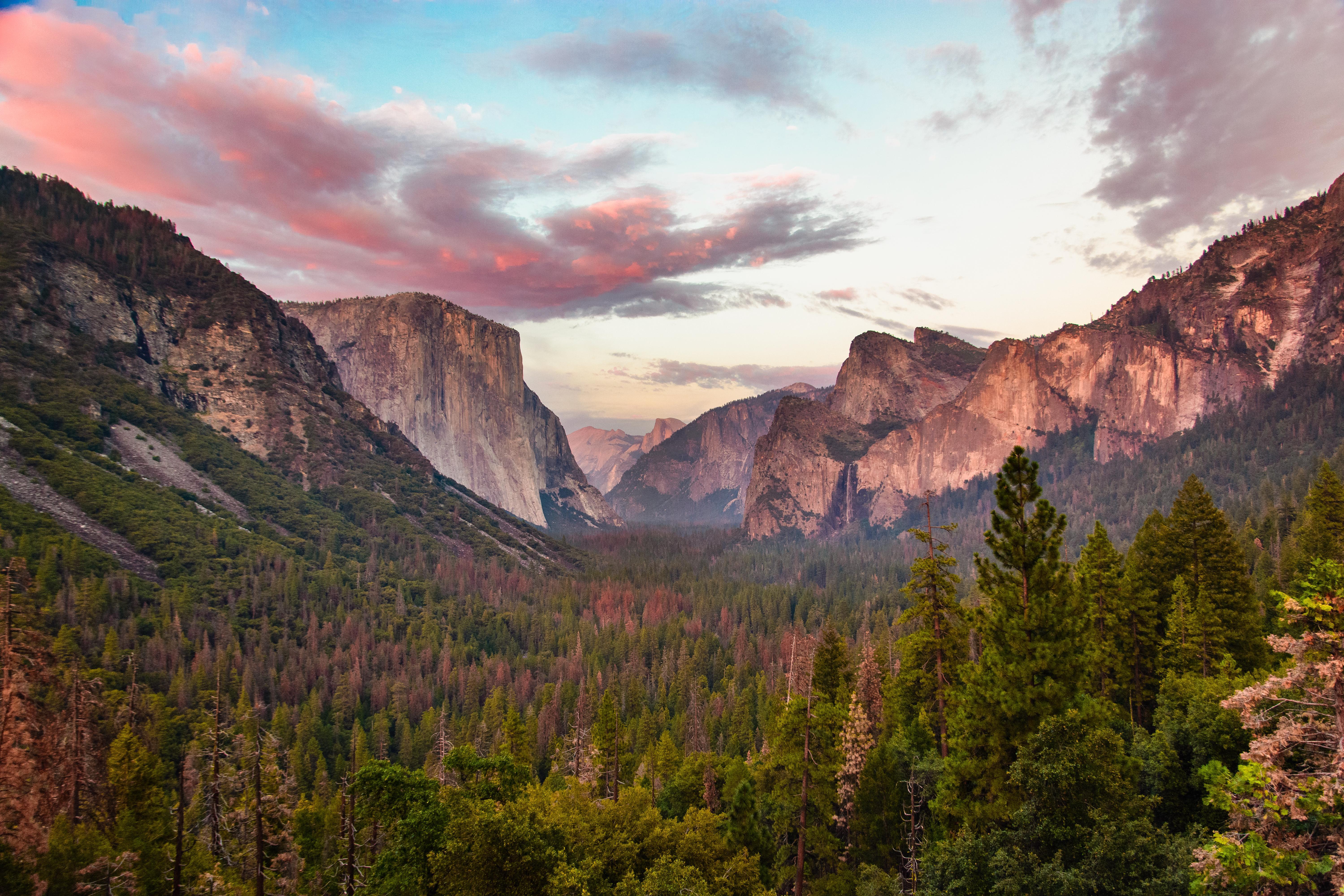 Tunnel View At Dusk Yosemite 5k Hd Nature 4k Wallpapers