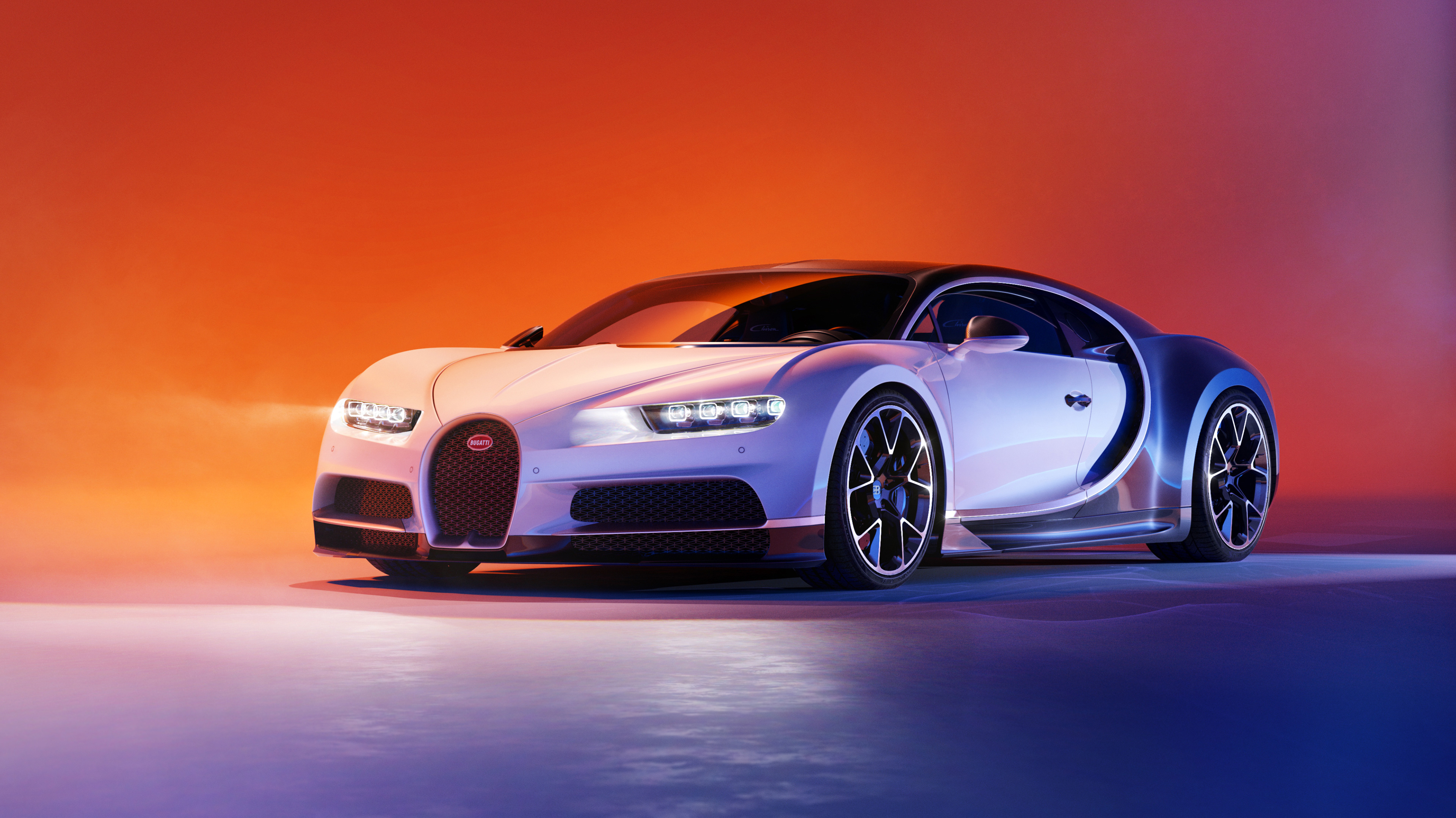 Two Tone Bugatti Chiron 4K, HD Cars, 4k Wallpapers, Images, Backgrounds, Photos and Pictures