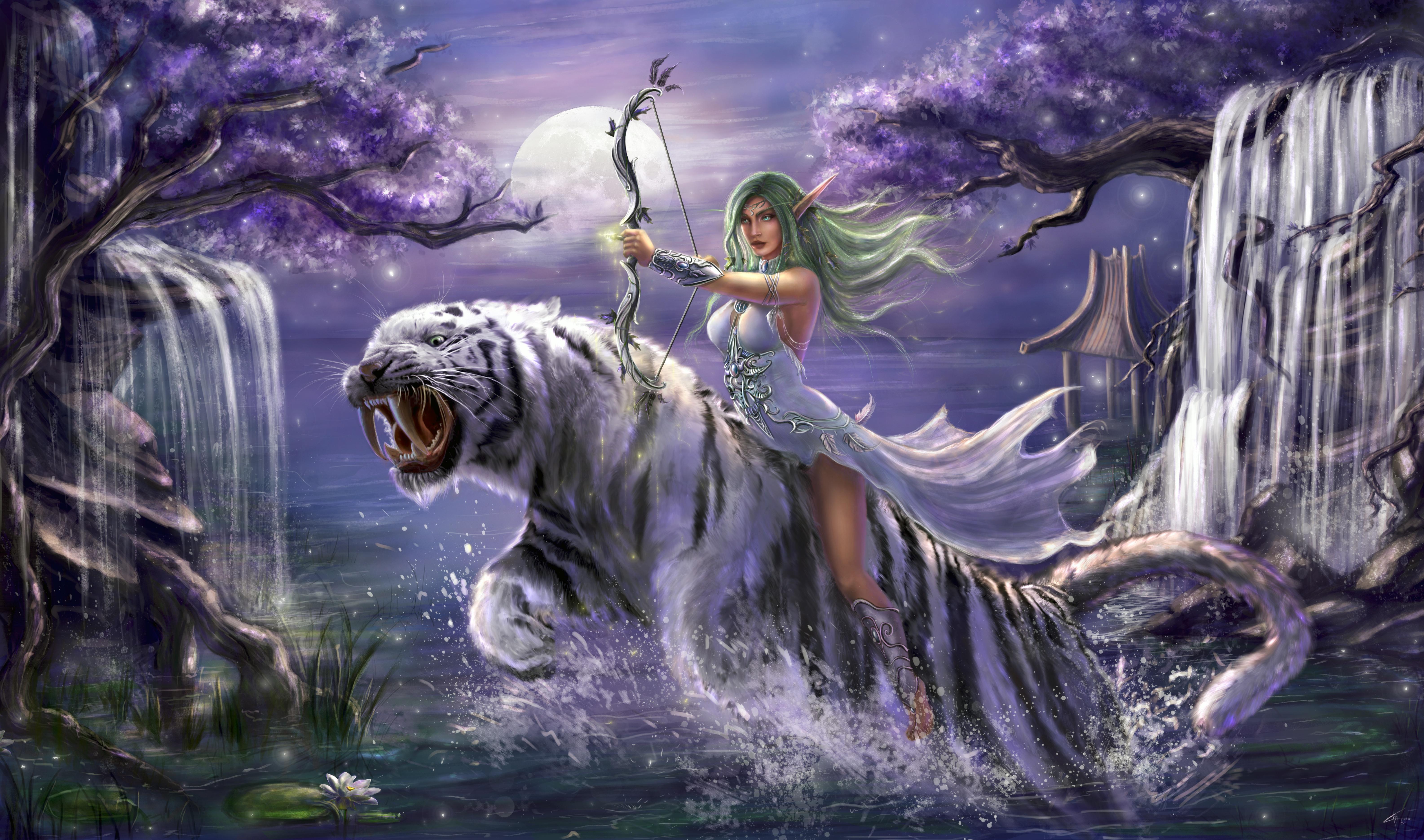 Tyrande Whisperwind World Of Warcraft 5k, HD Games, 4k