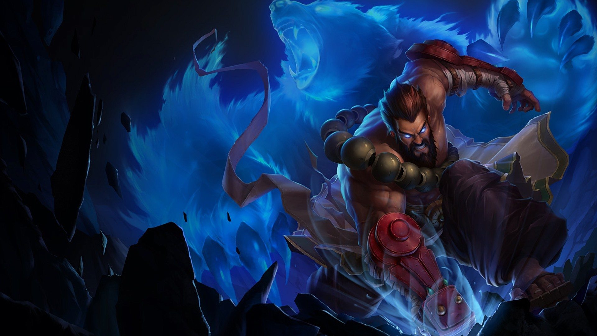 Wallpaper Untuk Legends Mobile Hd 4k For Android: Udyr League Of Legends, HD Games, 4k Wallpapers, Images