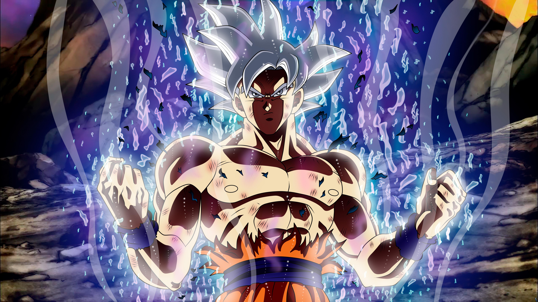 Ultra Instinct Goku Wallpaper 4k: Ultra Instinct Goku Dragon Ball 5k, HD Anime, 4k