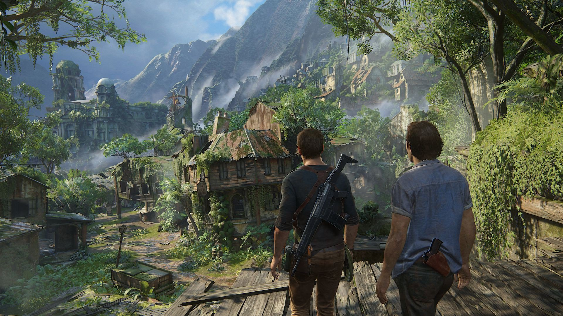 uncharted 4 desktop game, hd games, 4k wallpapers, images
