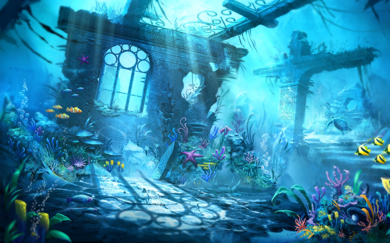 Underwater Scene, HD Graphics, 4k Wallpapers, Images ...