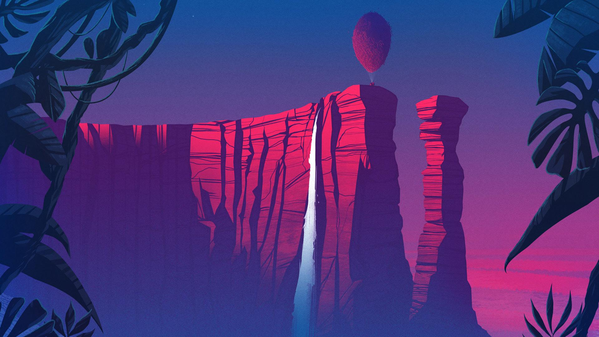 Up Movie Digital Art Hd Artist 4k Wallpapers Images Backgrounds