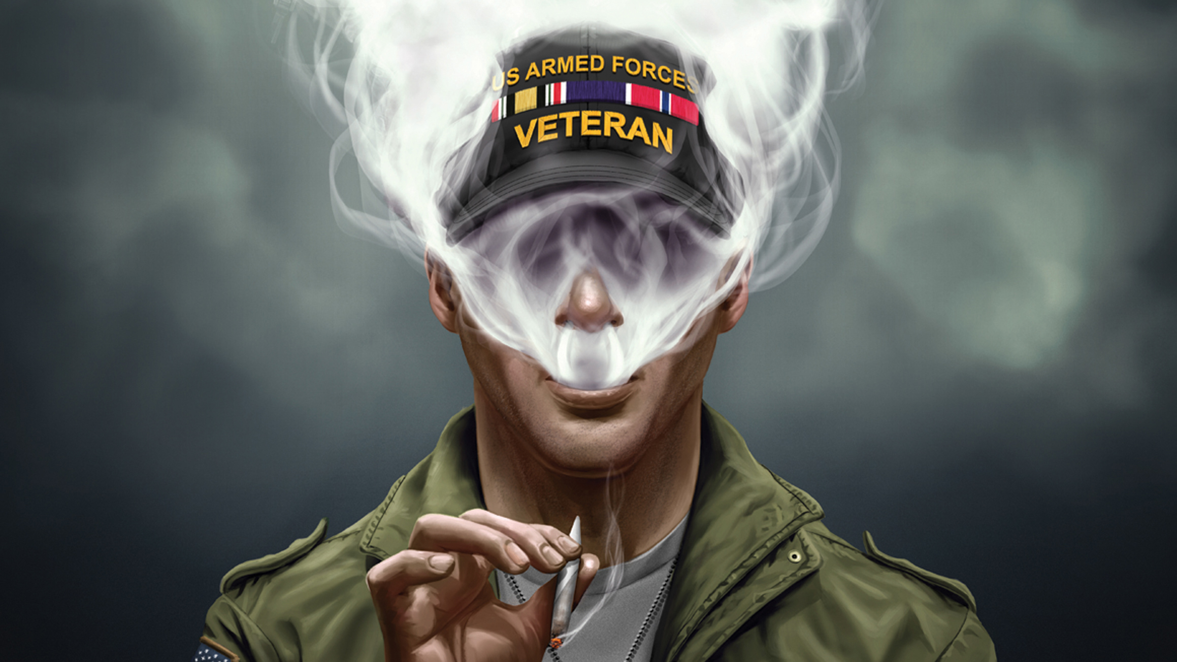1680x1050 Us Armed Force Smoking Cigarette 1680x1050