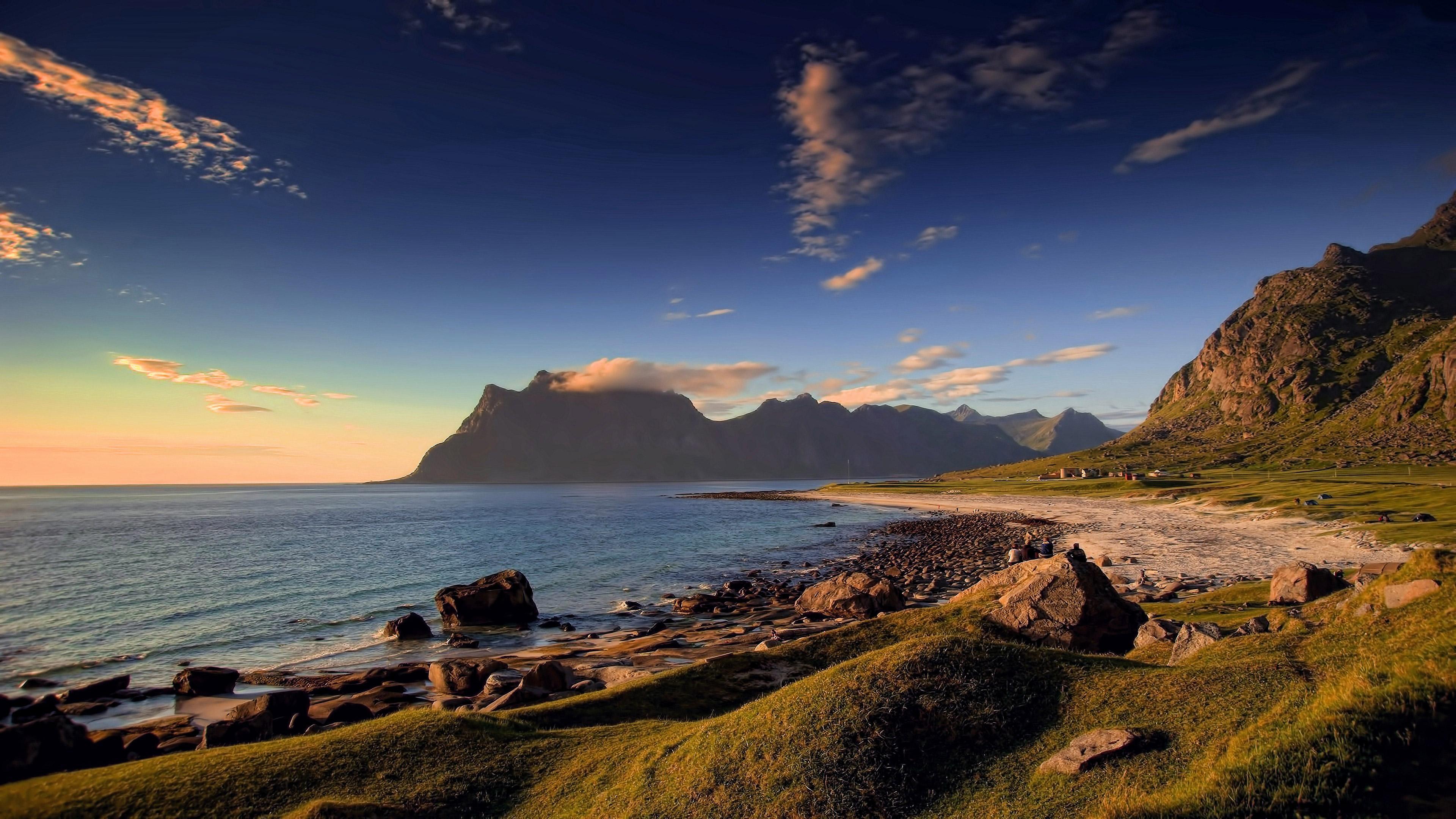 Utakleiv Beach In Norway Hd Nature 4k Wallpapers Images