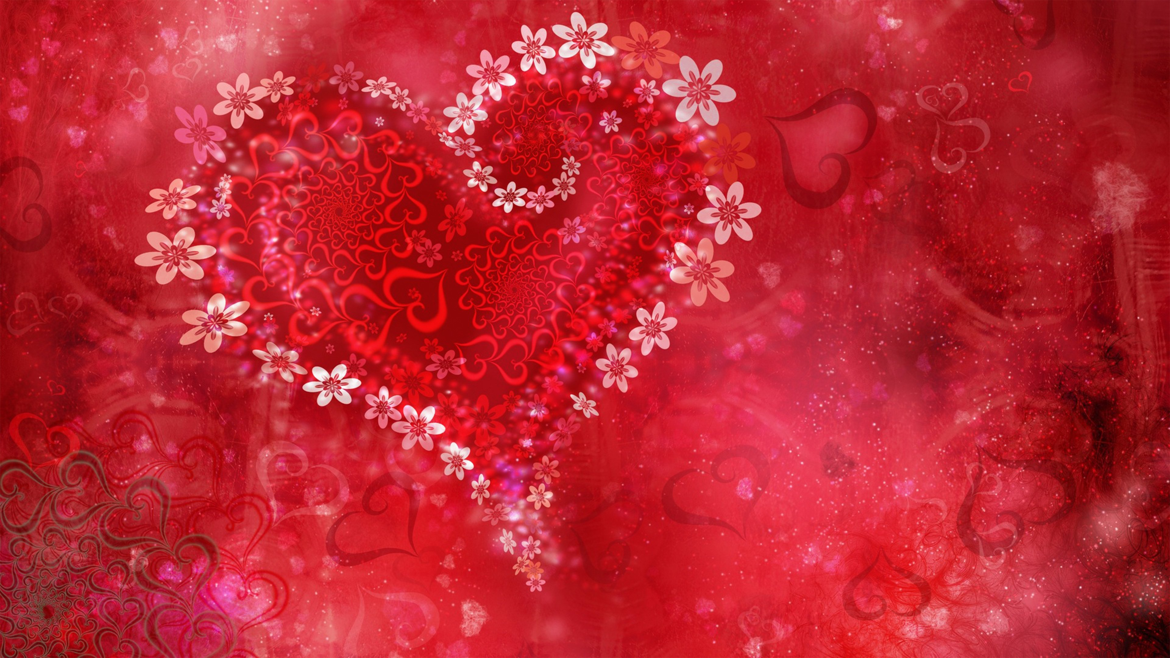 Valentine day heart 4k hd love 4k wallpapers images backgrounds valentine day heart 4k voltagebd Images