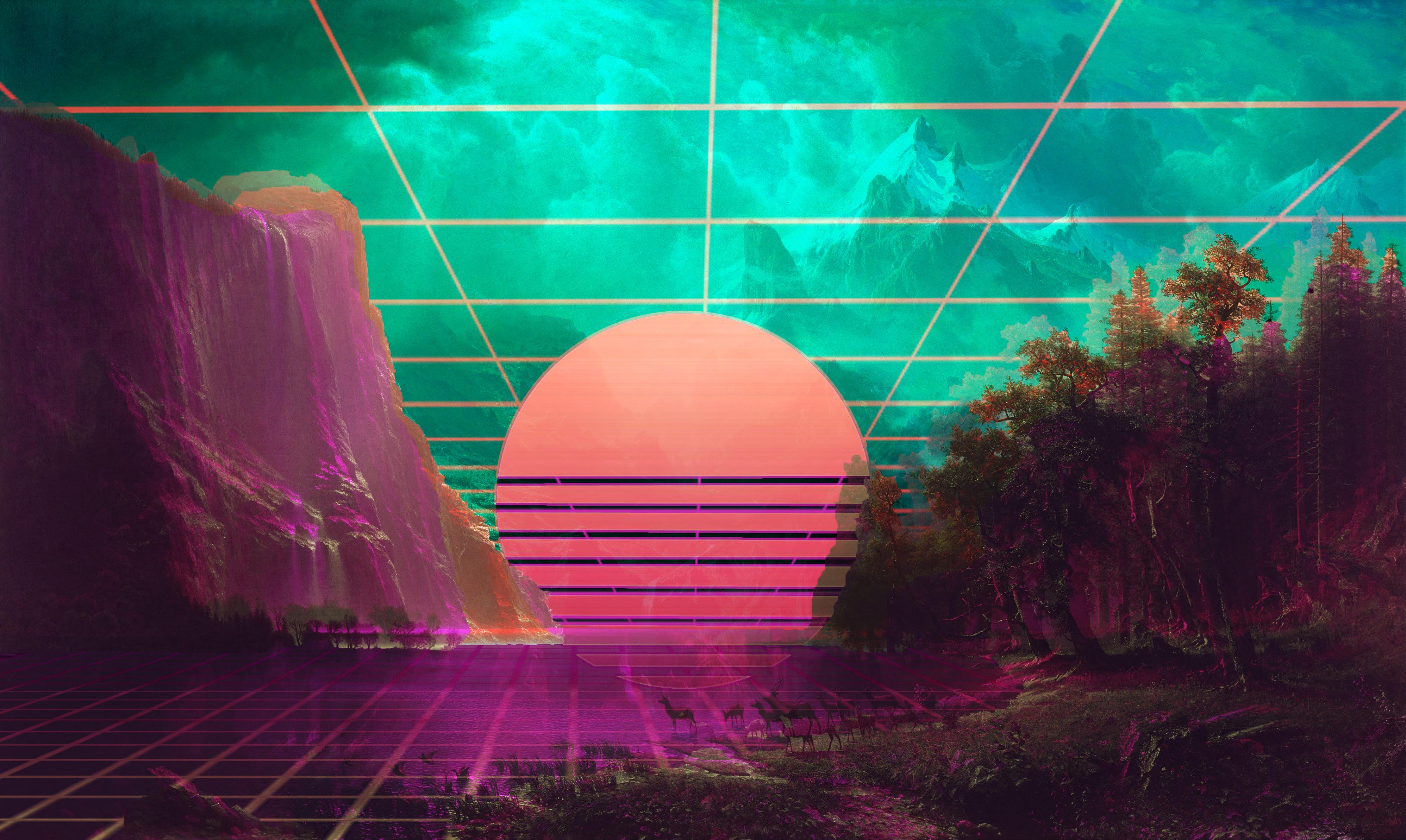 Vaporwave 4k, HD Artist, 4k Wallpapers, Images ...