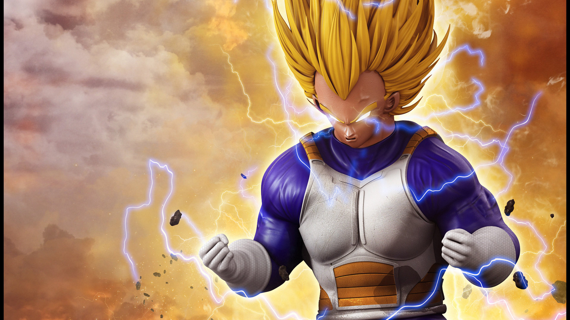 Vegeta 3d Art, HD Anime, 4k Wallpapers, Images, Backgrounds