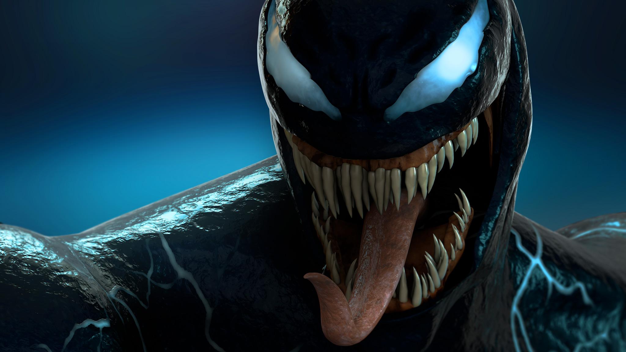 Venom 3d Digital Art