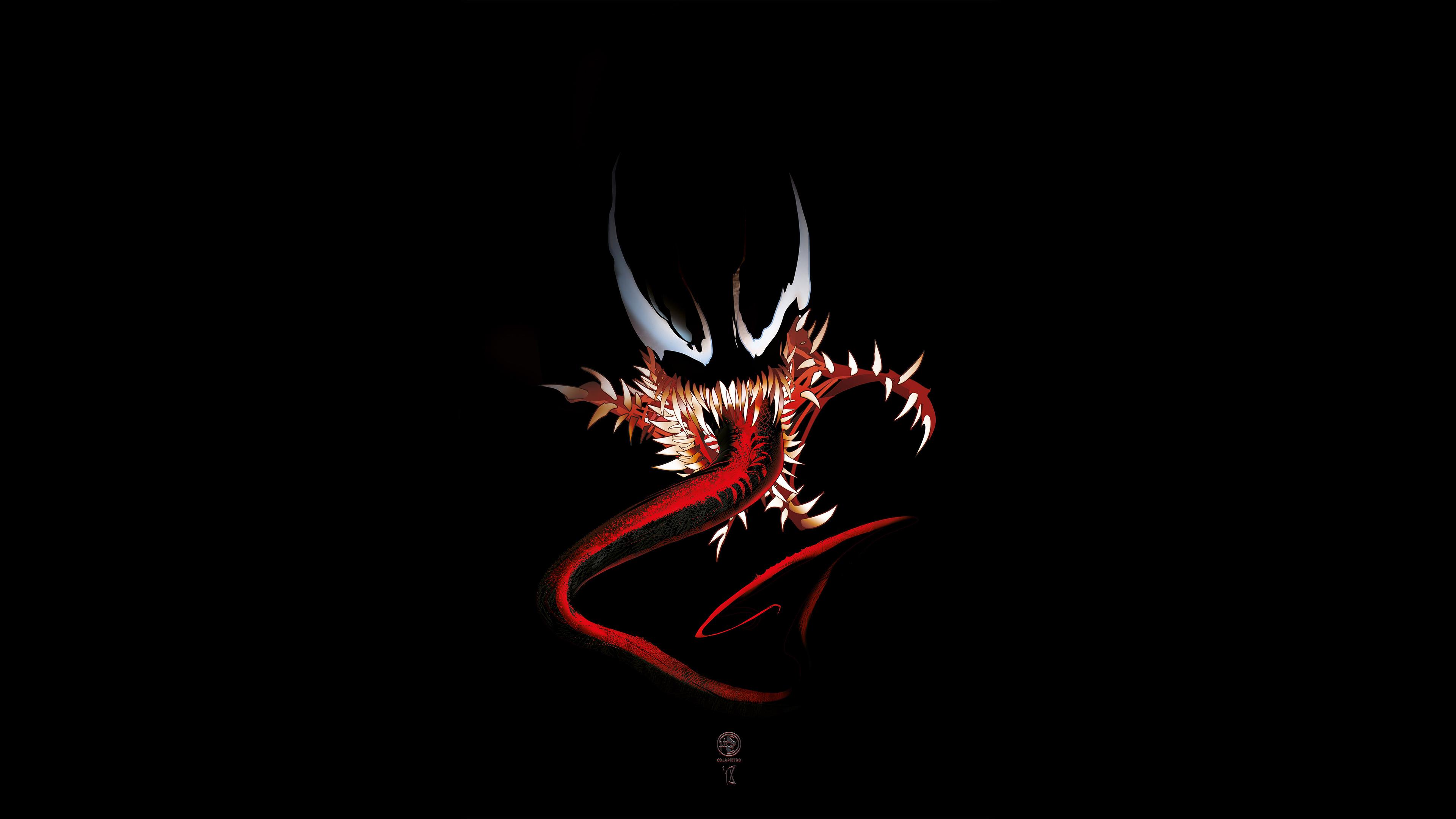 Venom 4k Digital Art, HD Superheroes, 4k Wallpapers ...