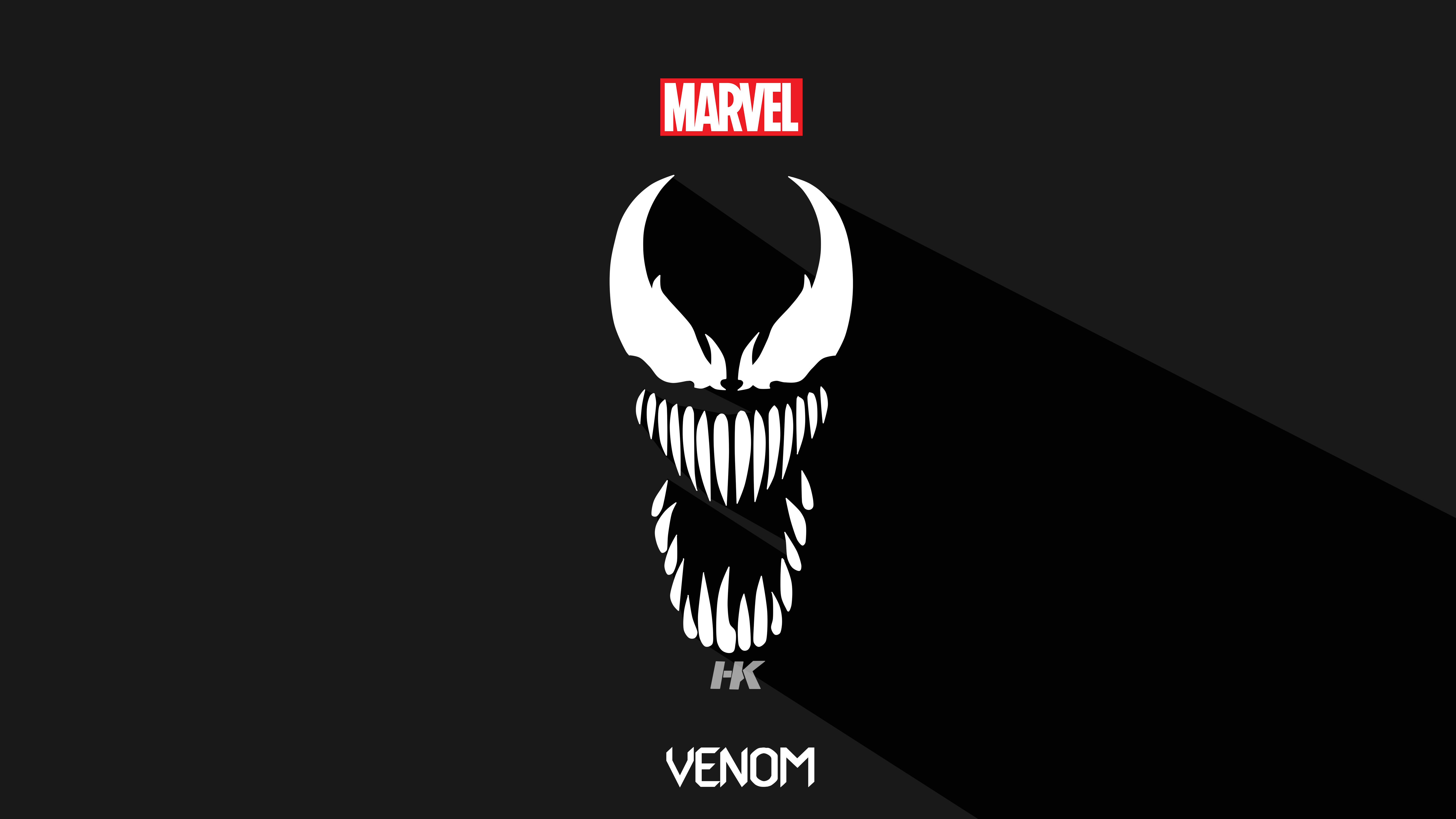 Venom 5k Minimalism, HD Superheroes, 4k Wallpapers, Images ...