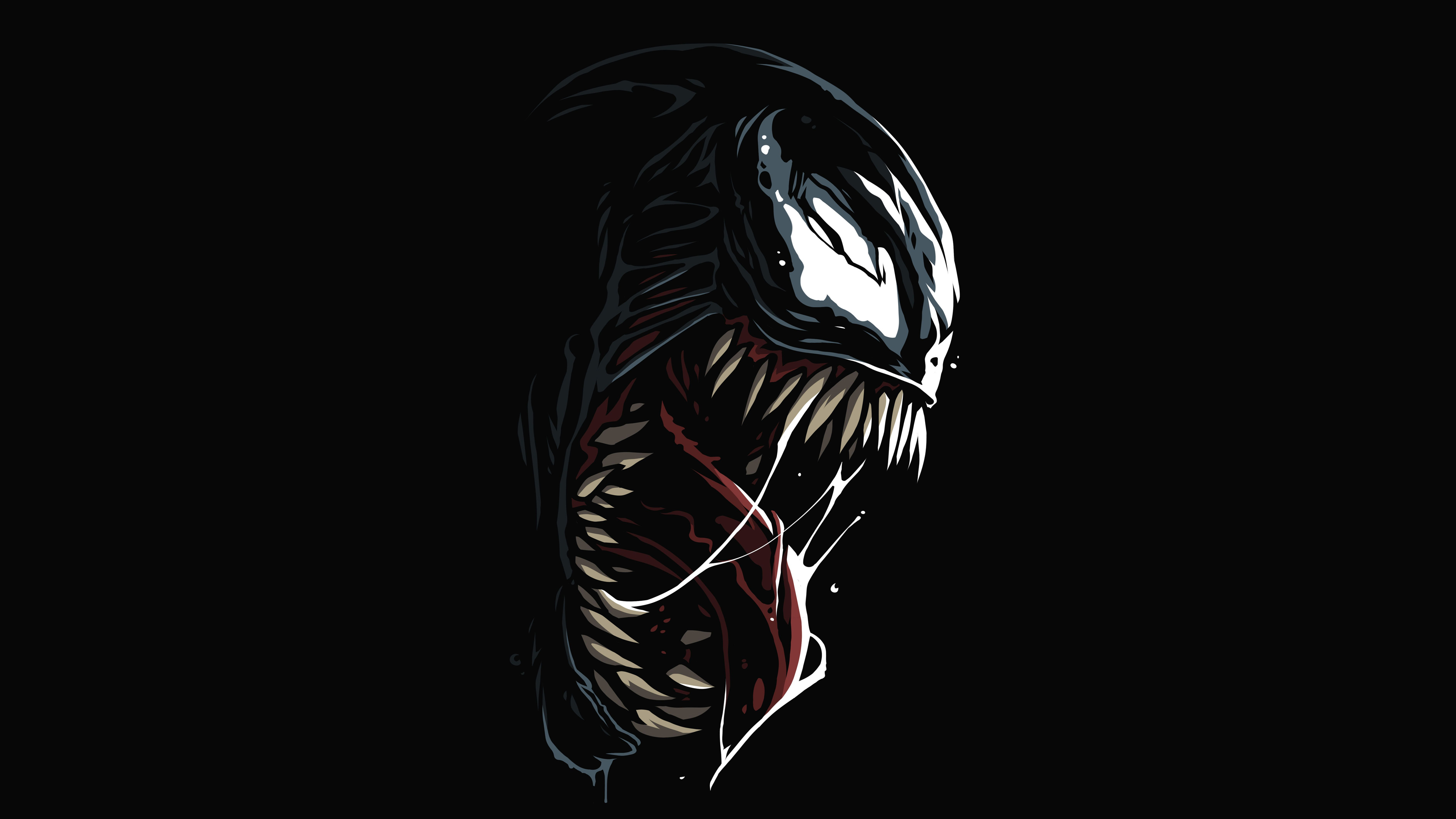 Venom Amoled 4k Hd Superheroes 4k Wallpapers Images