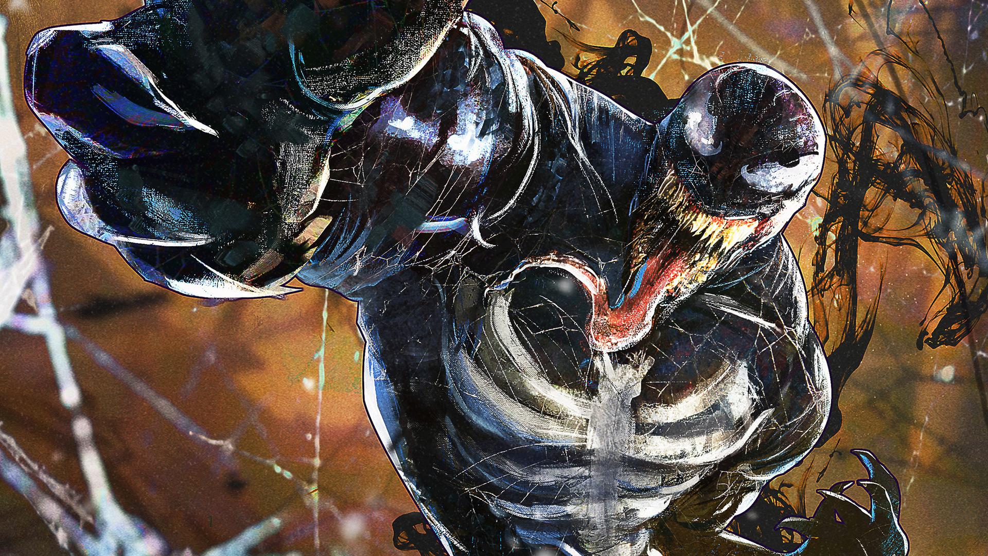 Venom Art 2018, HD Superheroes, 4k Wallpapers, Images ...